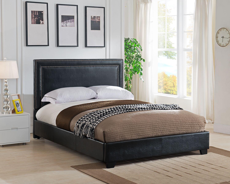 Baffin Upholstered Platform Bed Size: Queen, Color: Gray Linen