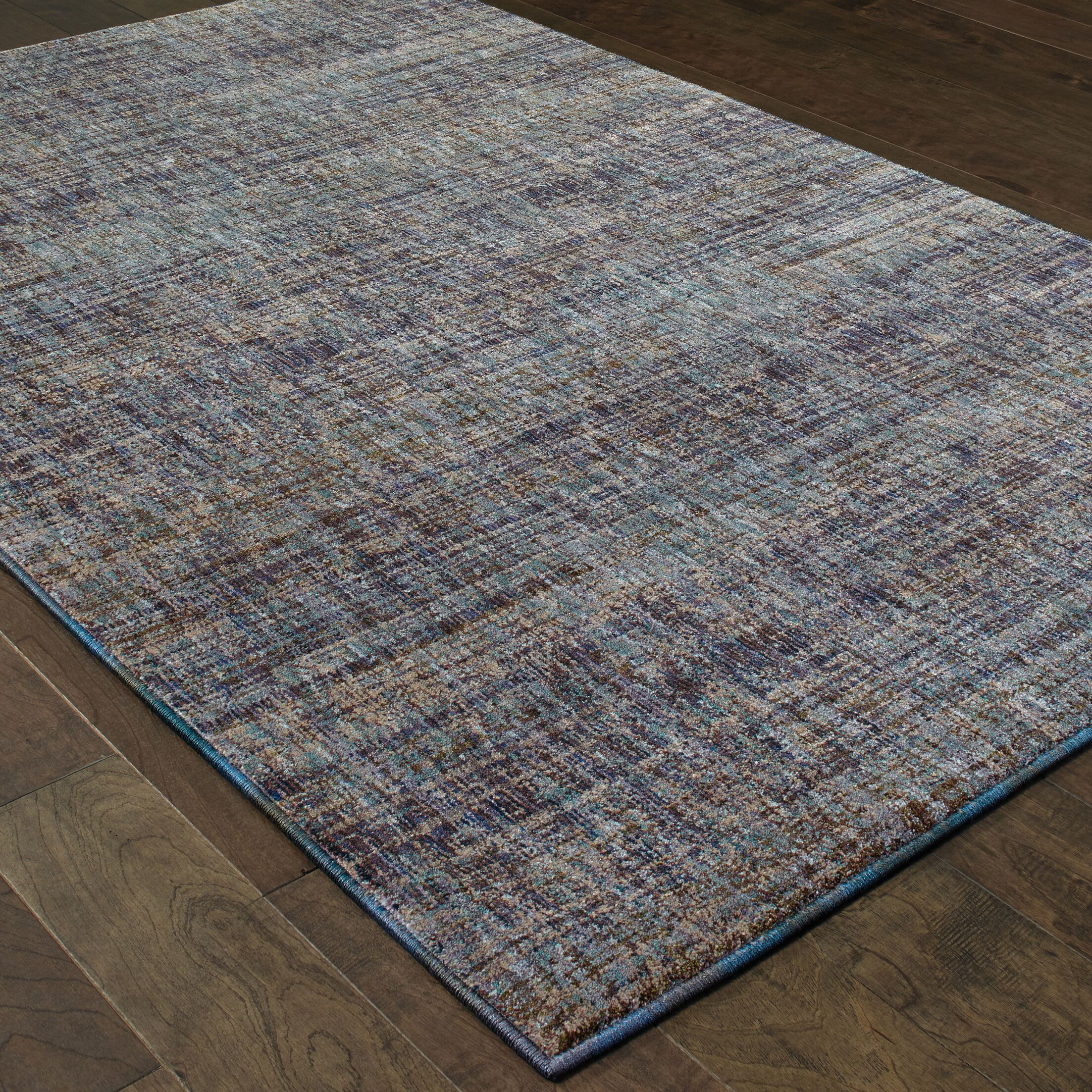 Bobby Purple/Gray Area Rug Rug Size: Rectangle 3'3