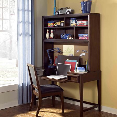 Jamey Desk Hutch Optional Hutch: Included