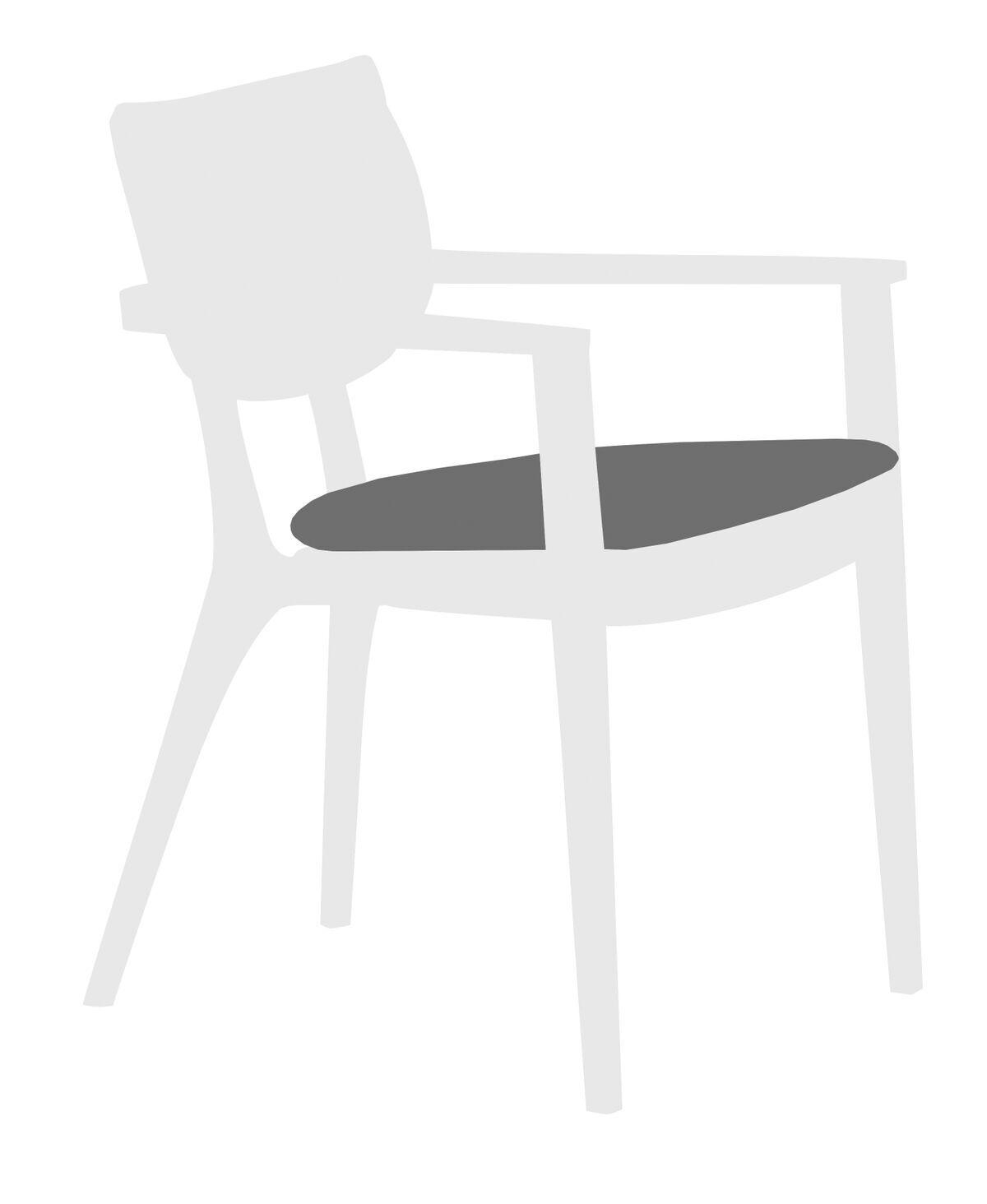 Diuna Outdoor Lounge Chair Cushion Fabric: Lanten Slate