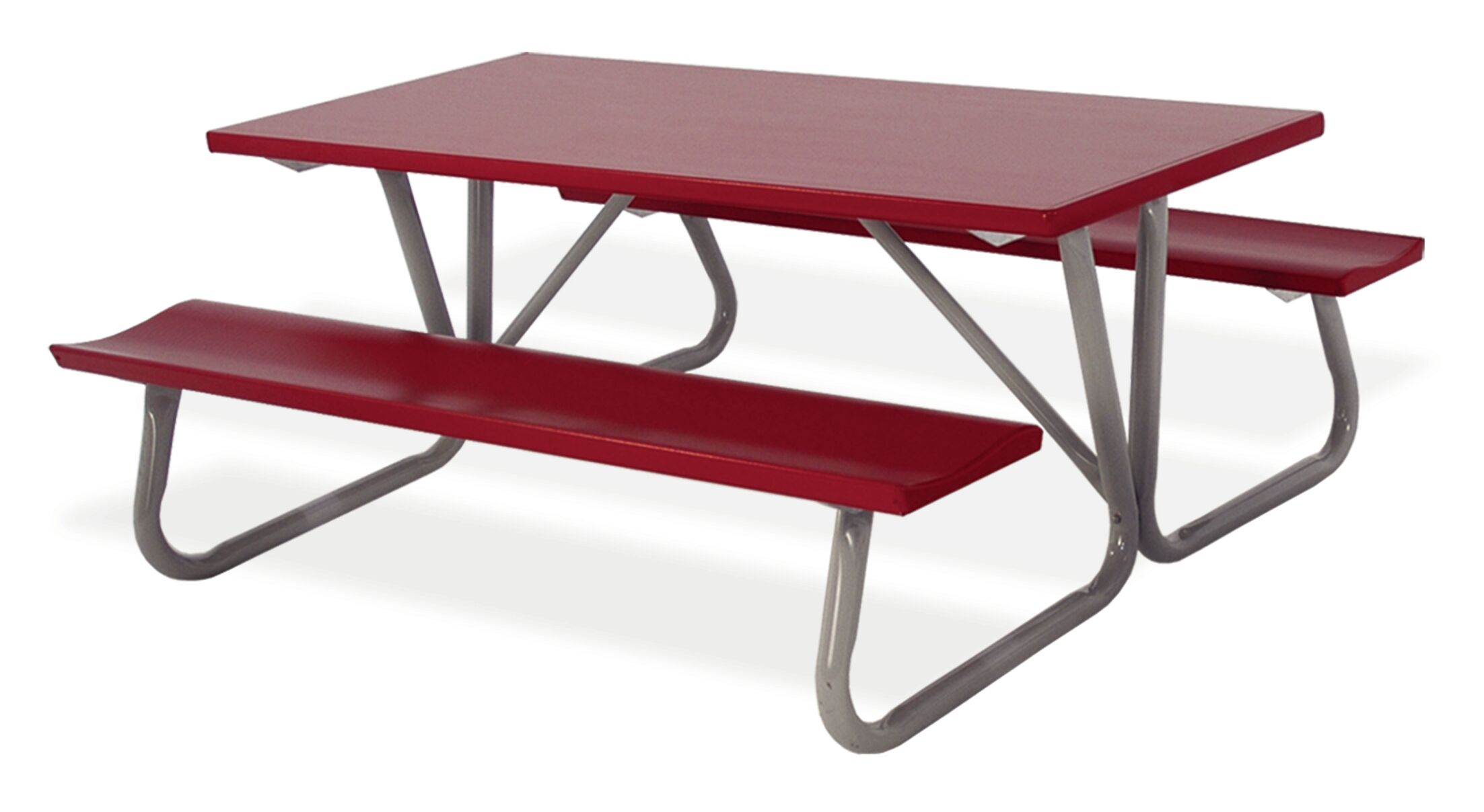 Southern Piknik Deluxe Picnic Table Table Size: 96