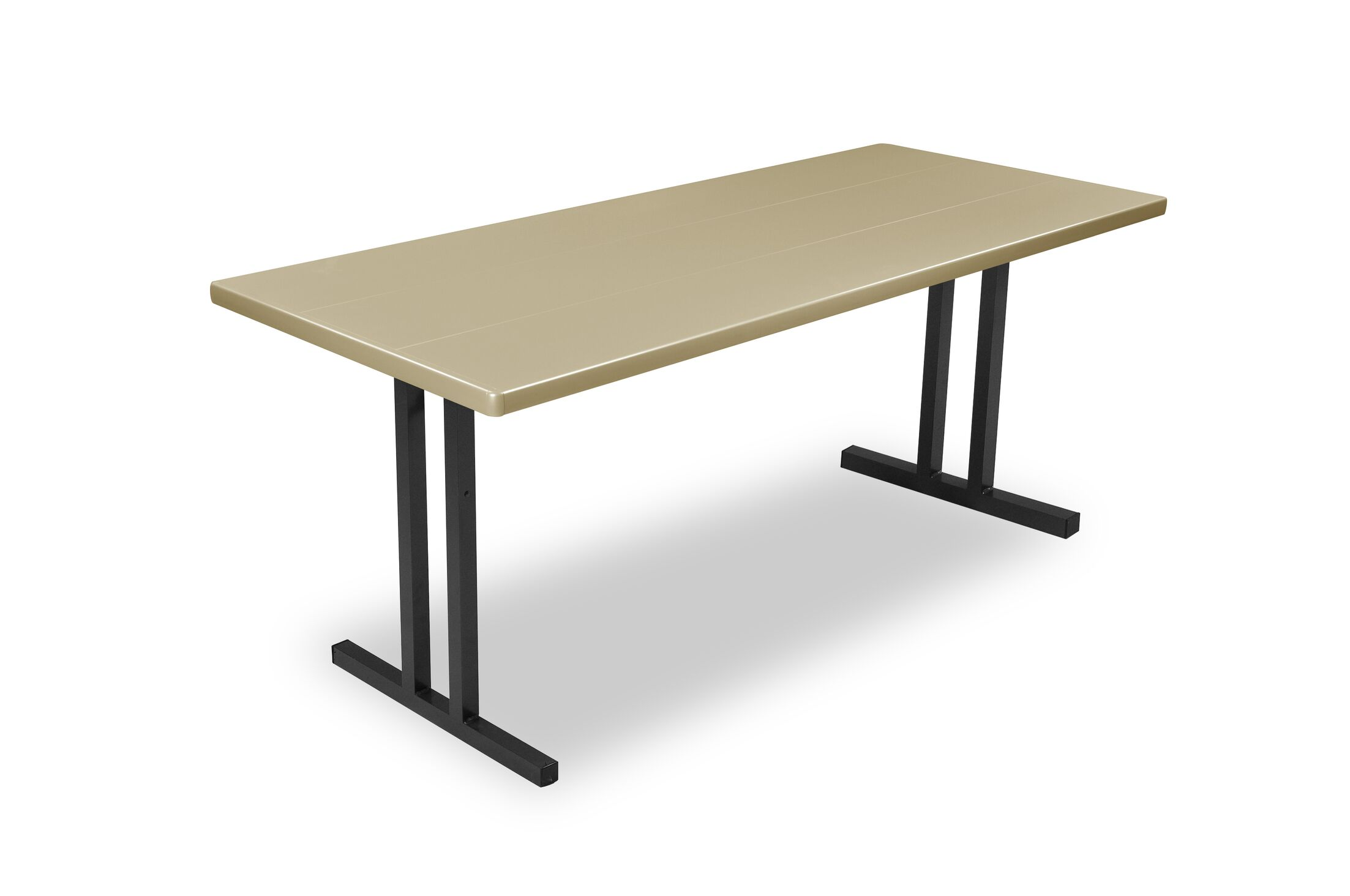 Alulite Training Table Finish: Walnut, Size: 29.75