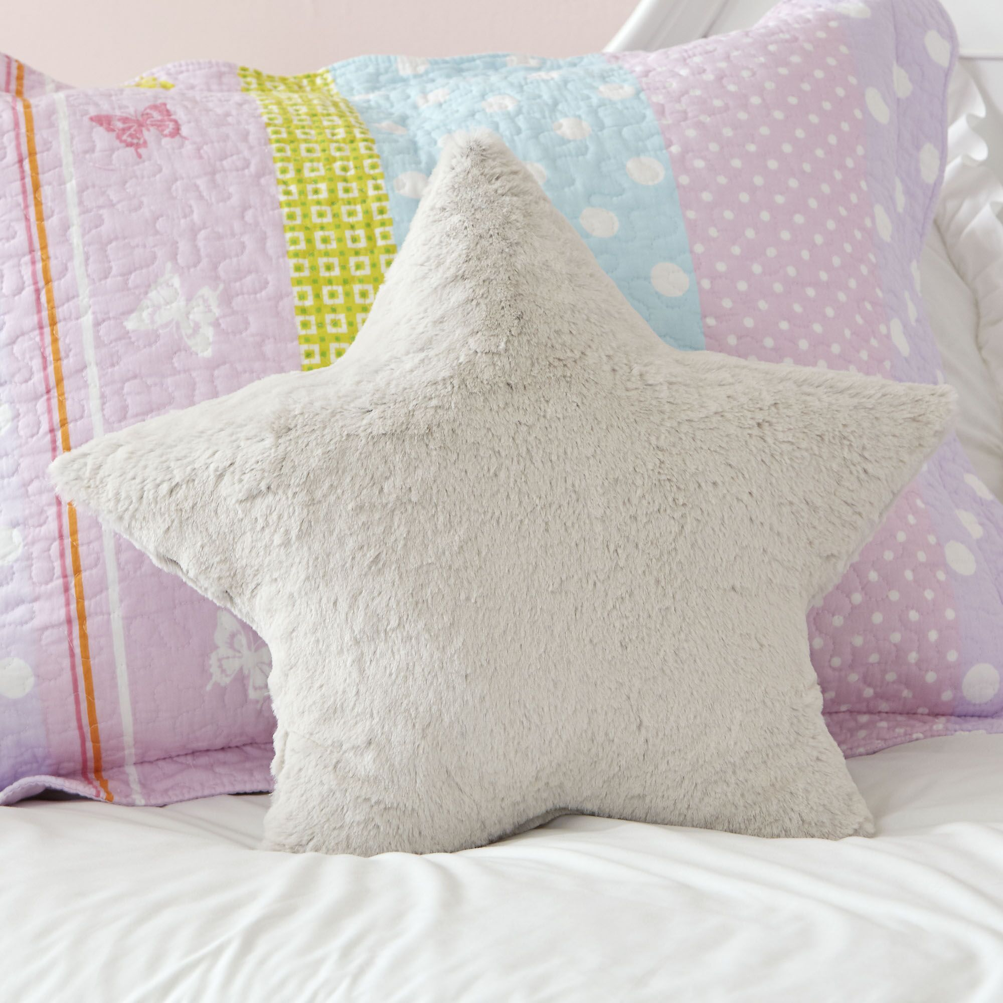 Plush Star Pillow