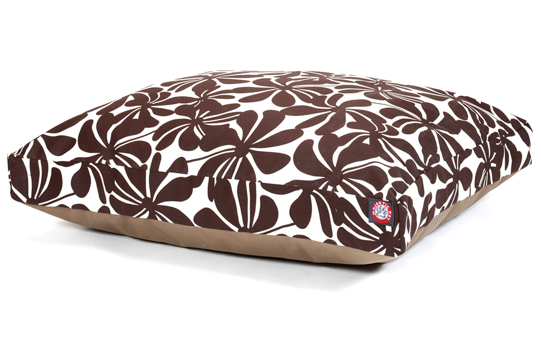 Cabana Indoor/Outdoor Pet Bed Color: Chocolate, Size: Large (50