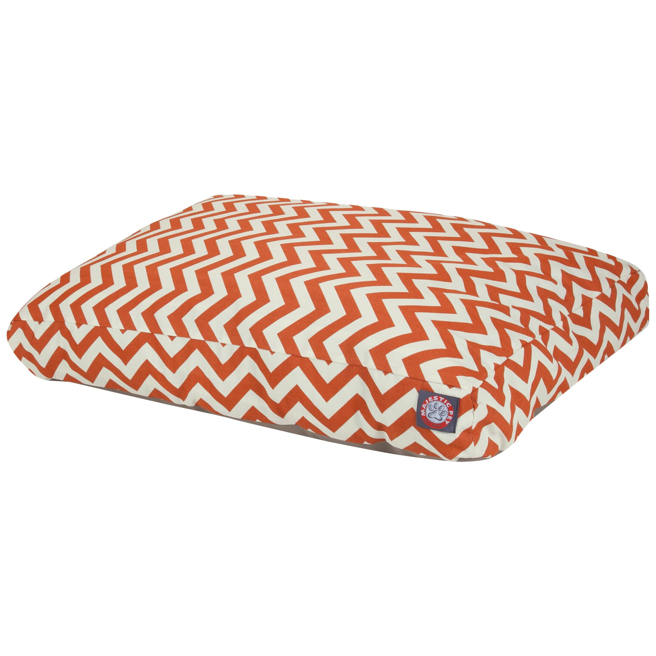 Zig Zag Pillow Pet Bed Size: Small (36