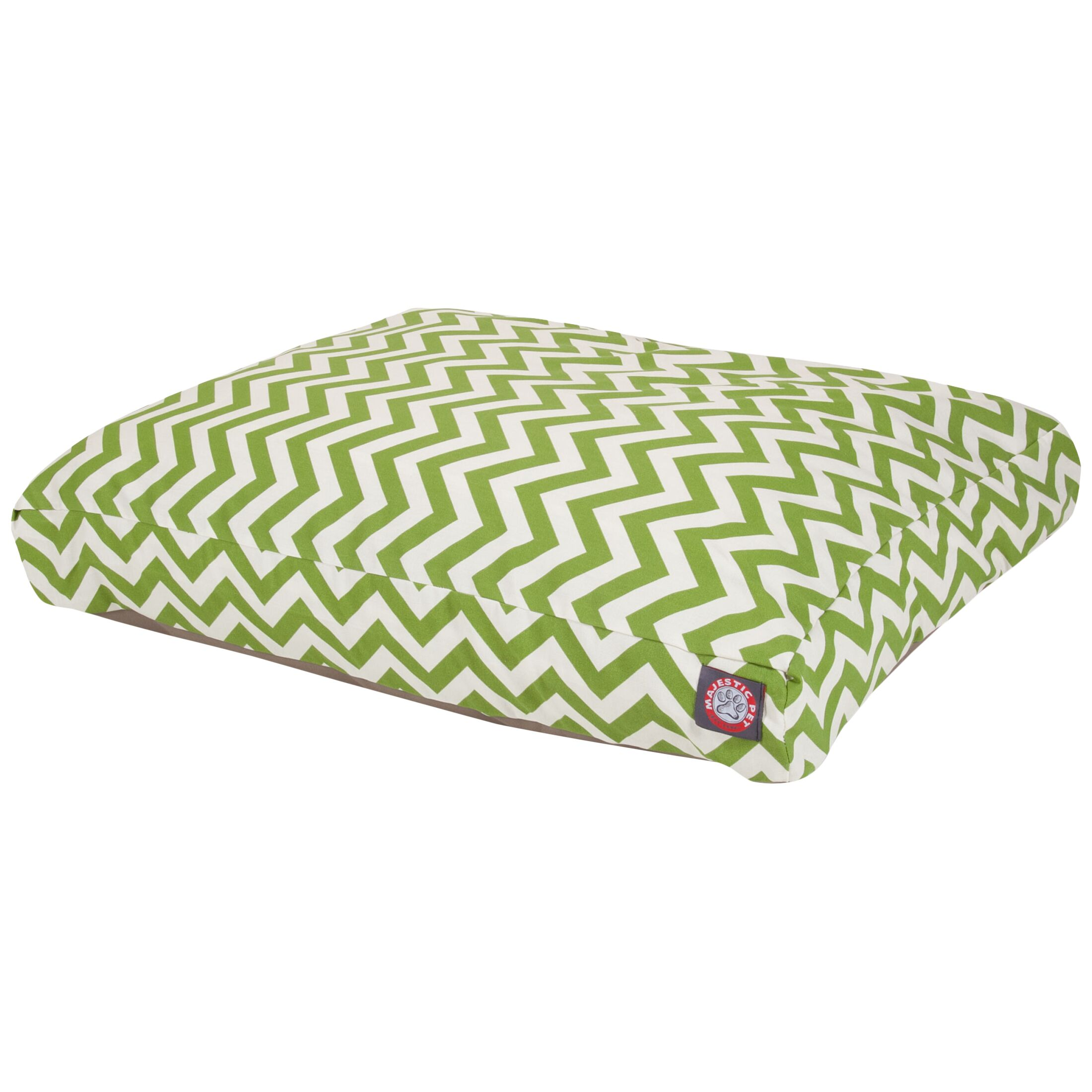 Zig Zag Pillow Pet Bed Size: Large (50