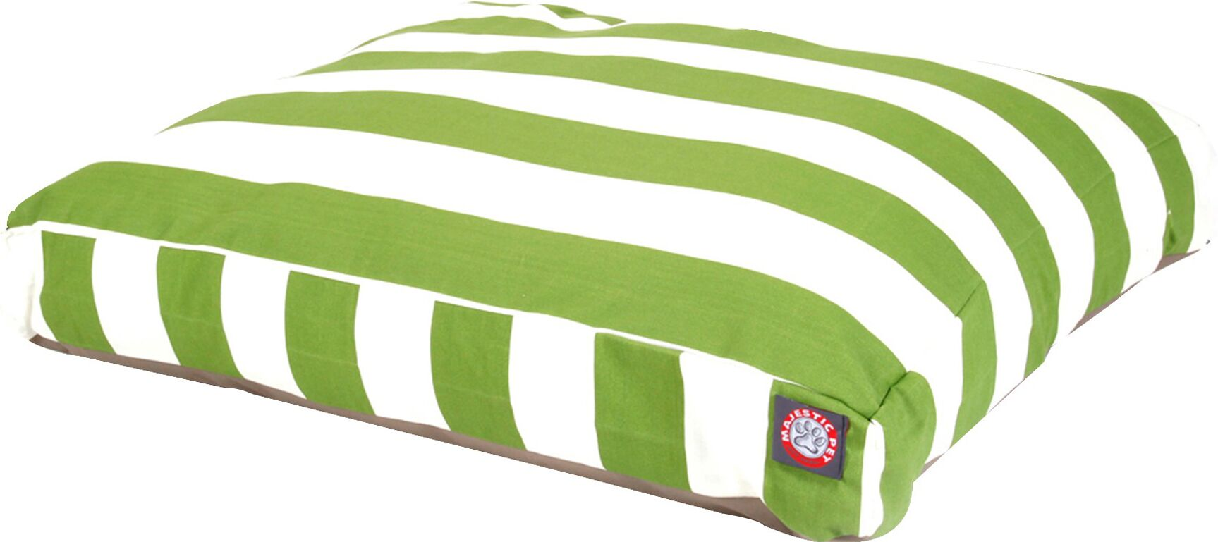 Vertical Stripe Pillow Dog Bed Size: Small (36
