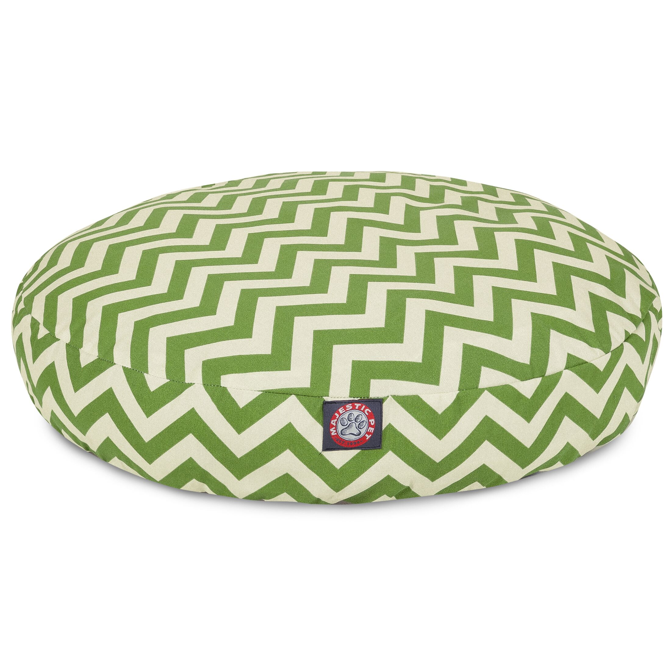 Zig Zag Round Pet Bed Size: Large (42