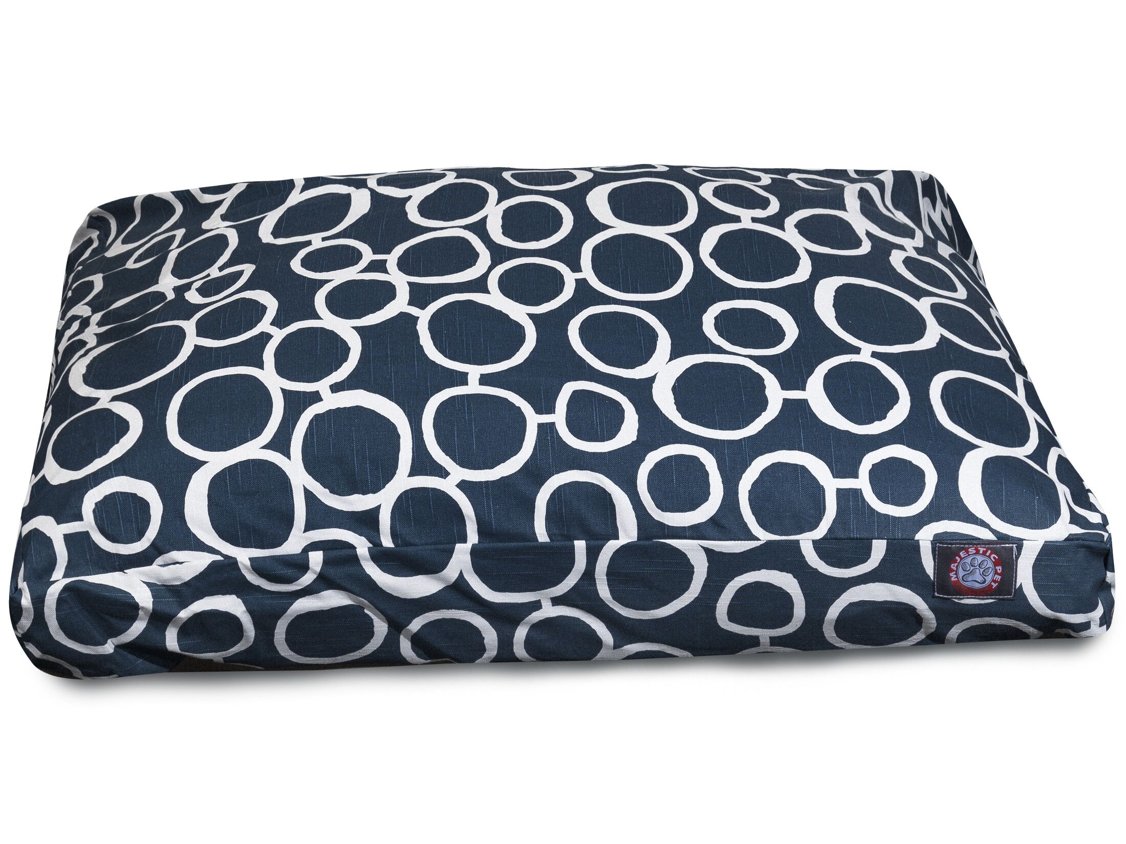 Fusion Rectangle Pet Bed with Waterproof Denier Base Size: Medium (36