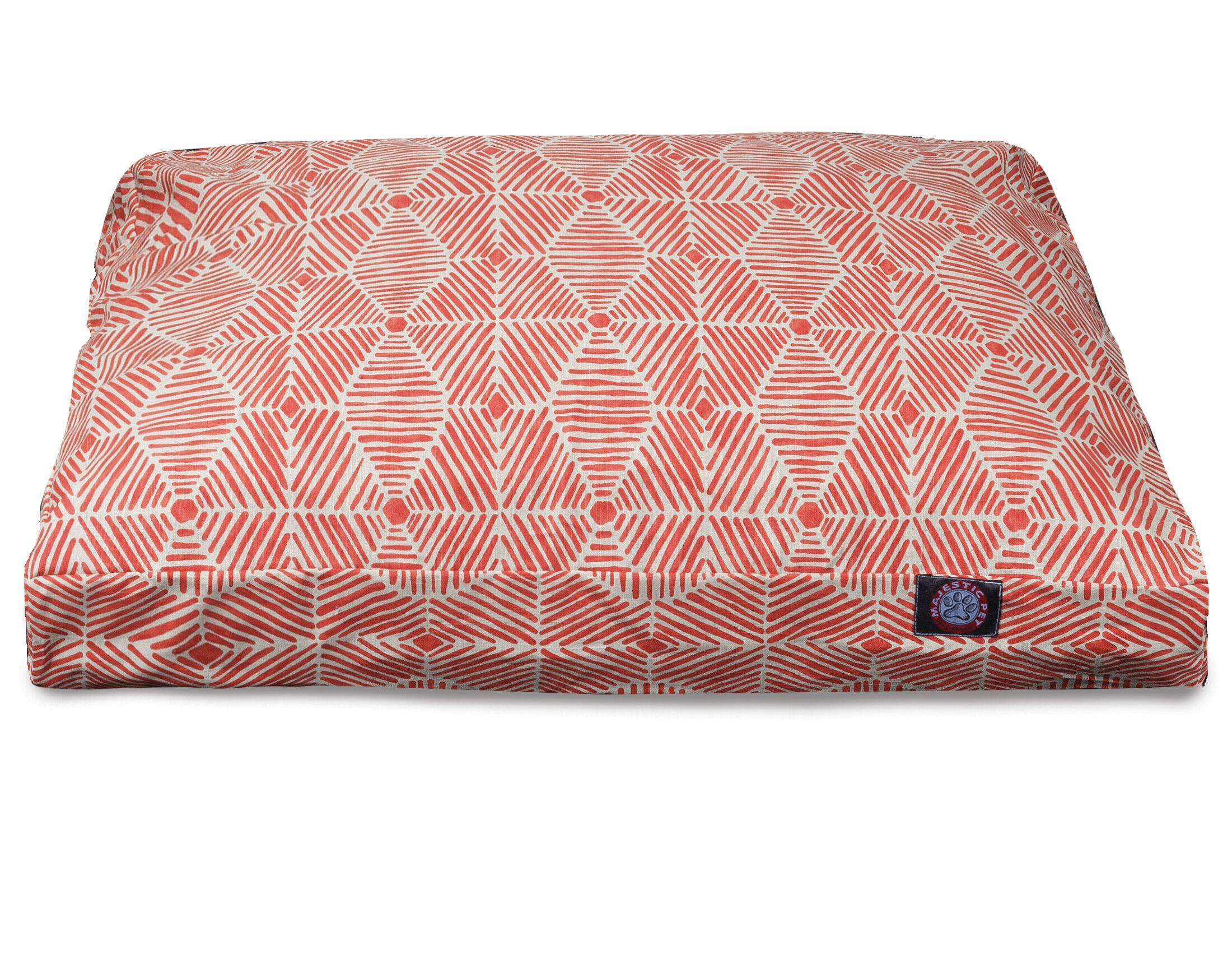 Charlie Rectangle Pet Bed with Waterproof Denier Base Size: Large (44