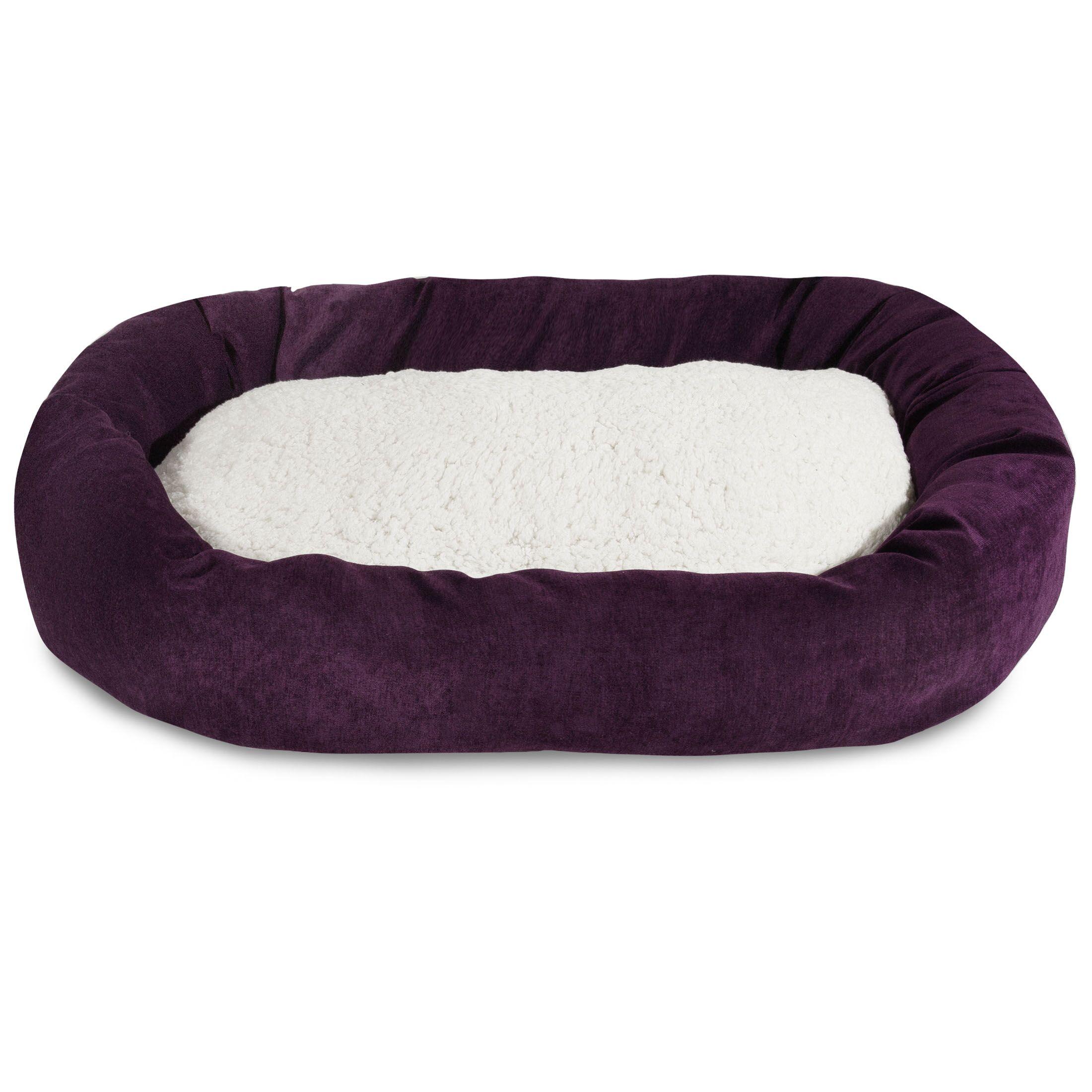 Villa Sherpa Bagel Bed Size: Medium (32