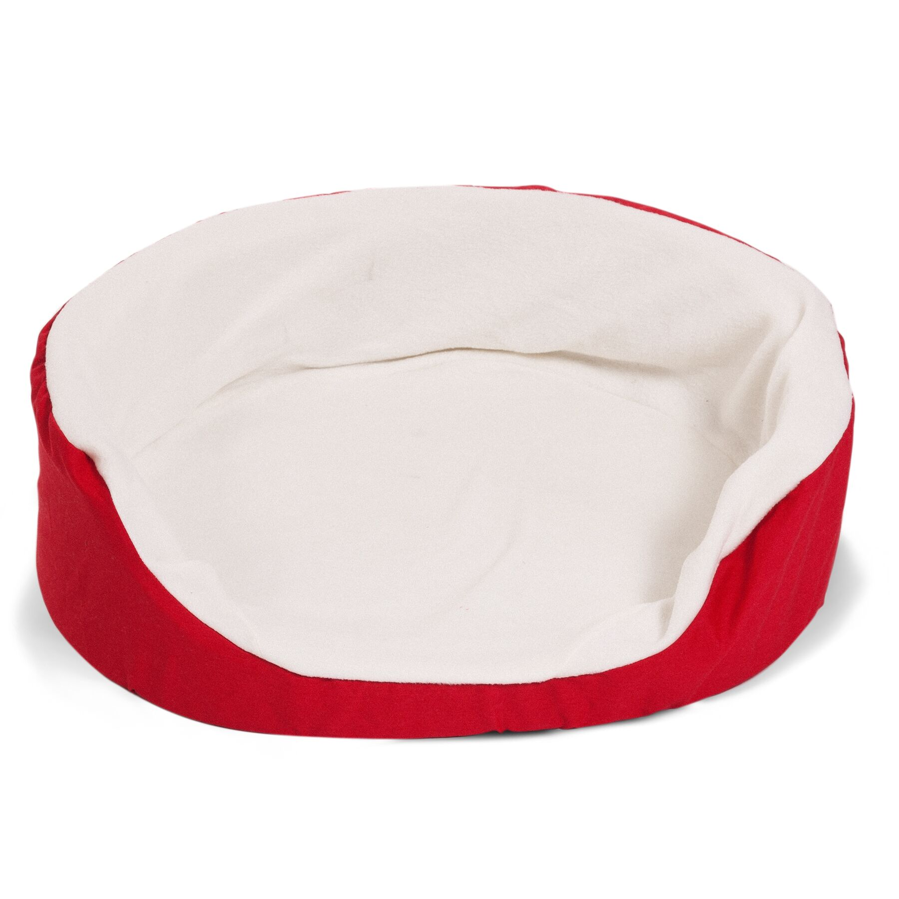 Lounger Orthopedic Nest Pillow Dog Bed Color: Red, Size: Extra Large (43