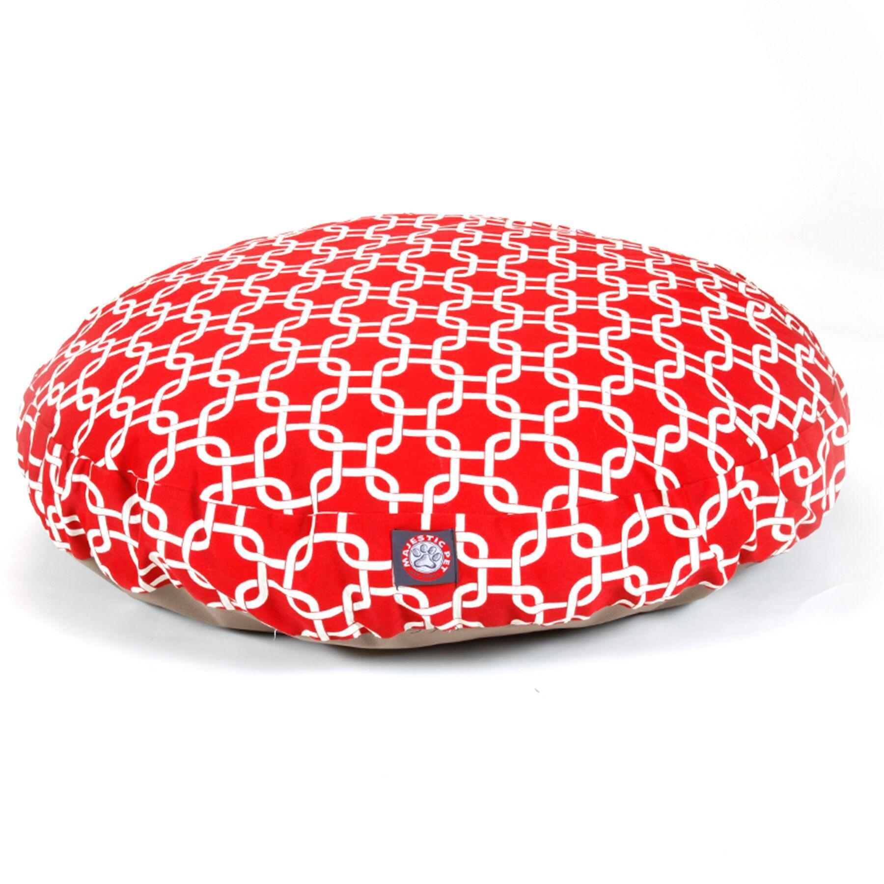 Links Round Pet Bed Size: Medium (36
