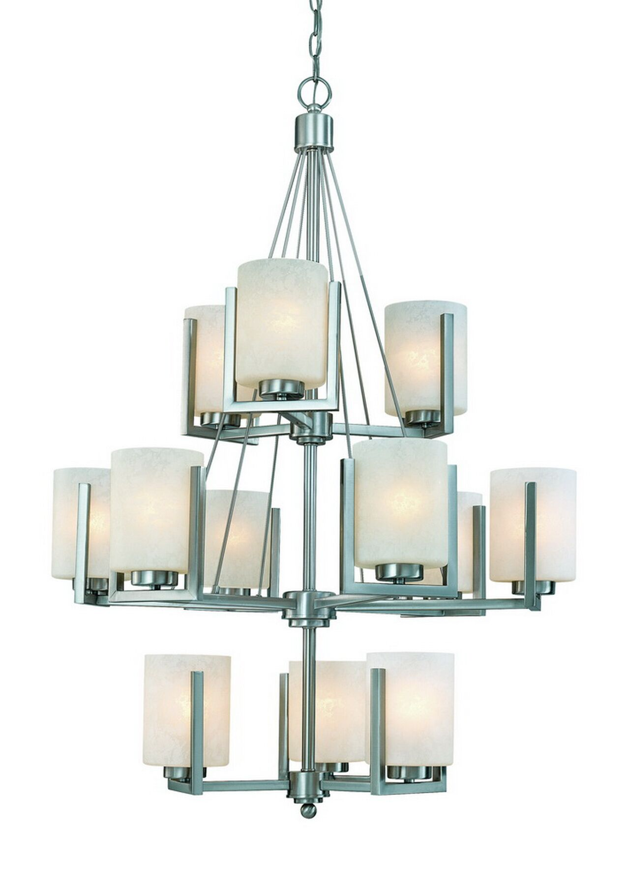 Uptown 12-Light Shaded Chandelier