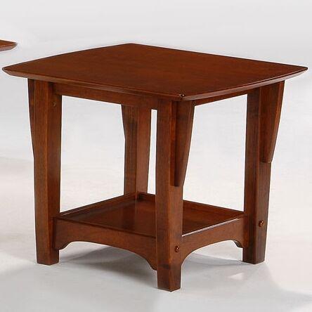 Premium Series End Table Color: Cherry