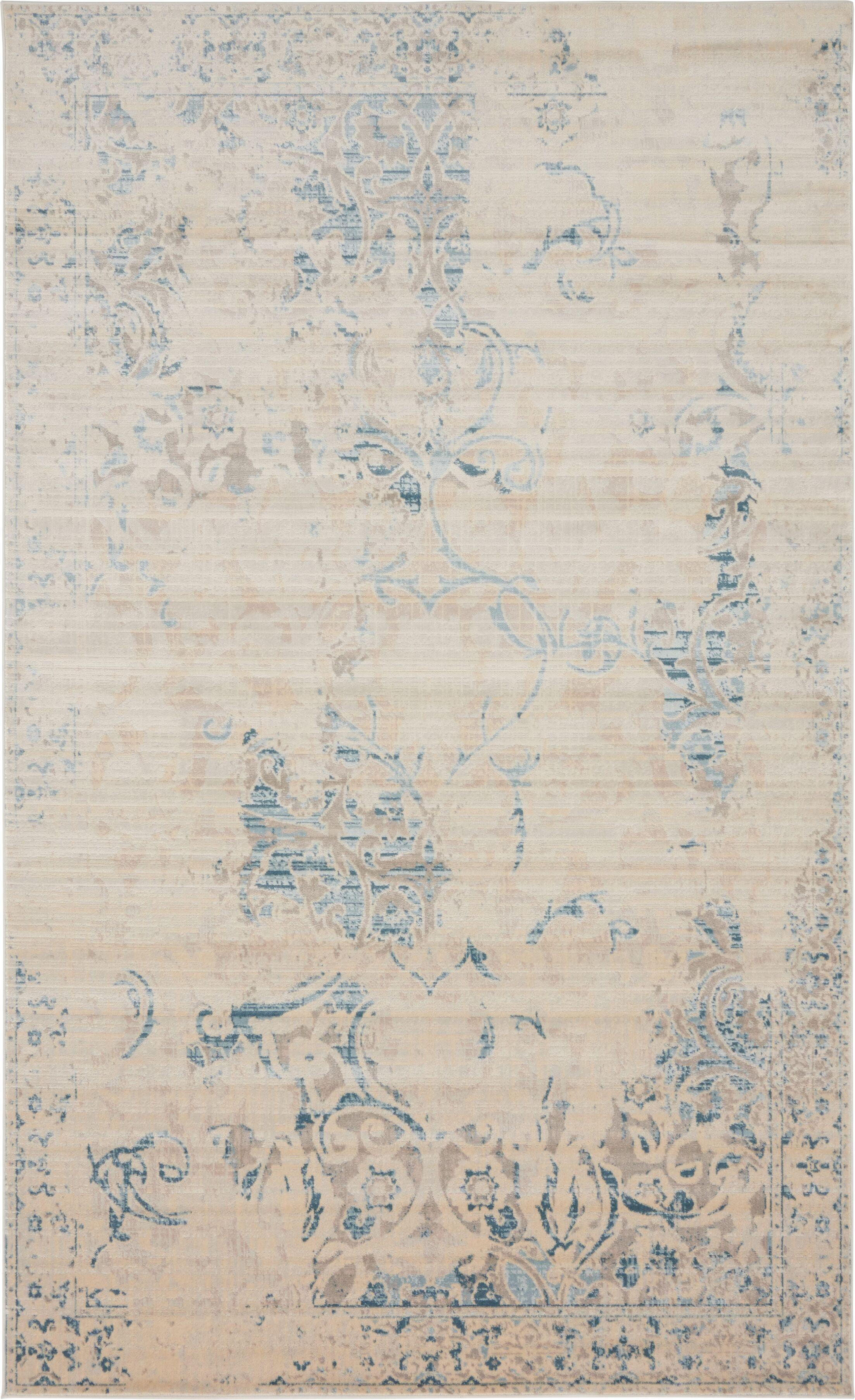 Elisha Beige Area Rug Rug Size: Rectangle 5' x 8'