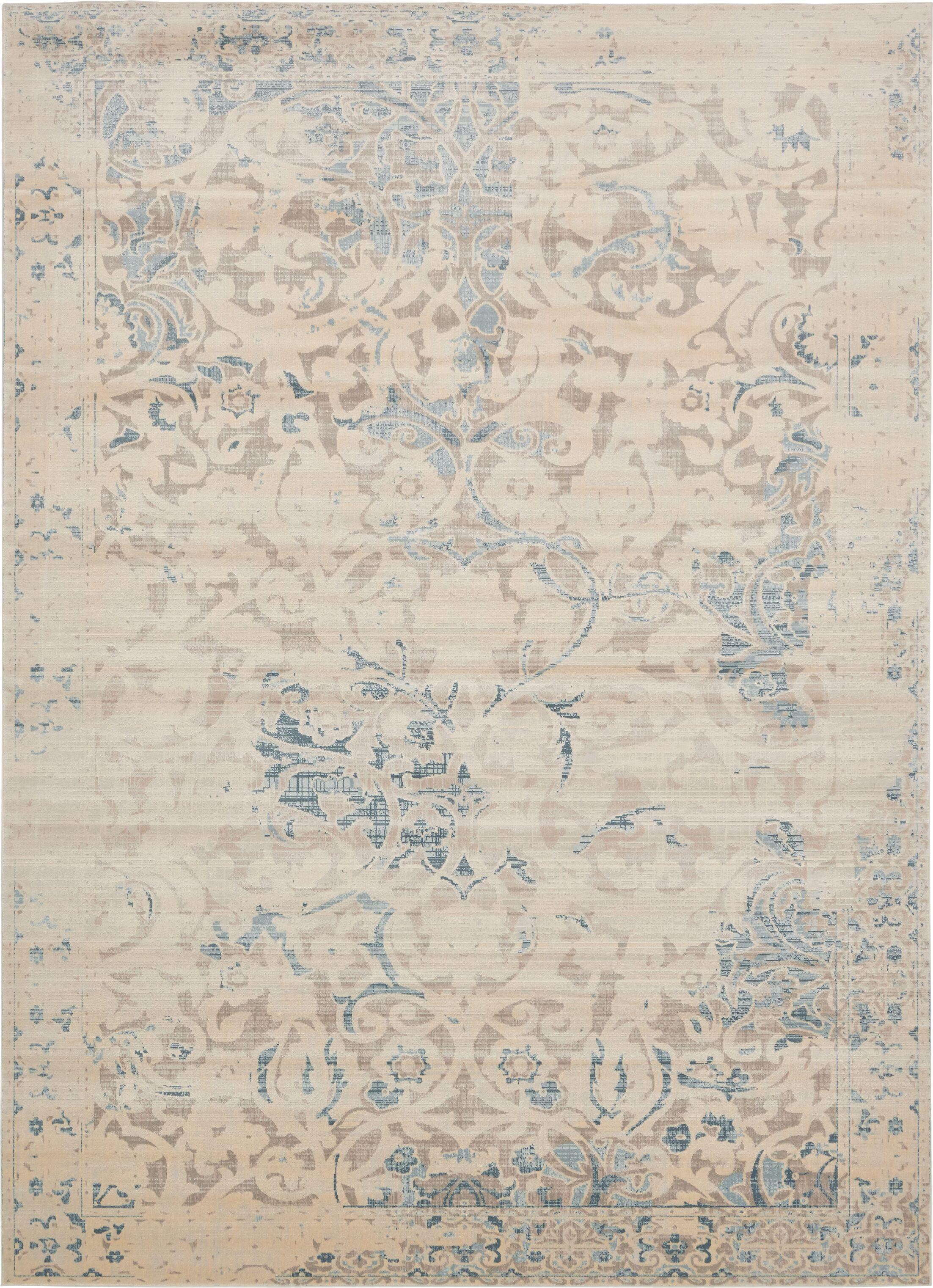 Elisha Beige Area Rug Rug Size: Rectangle 9' x 12'