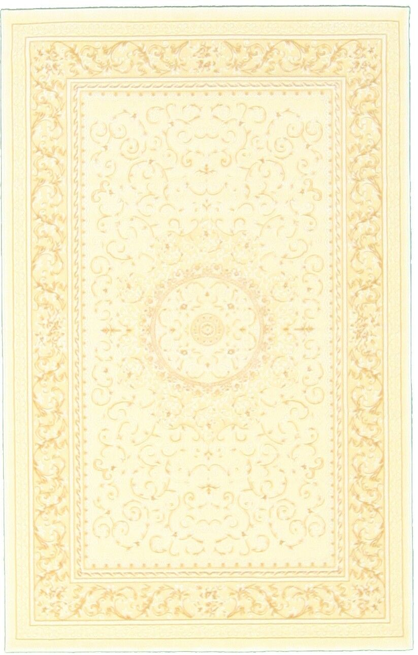 Amaris Beige Area Rug Rug Size: Rectangle 4' x 6'