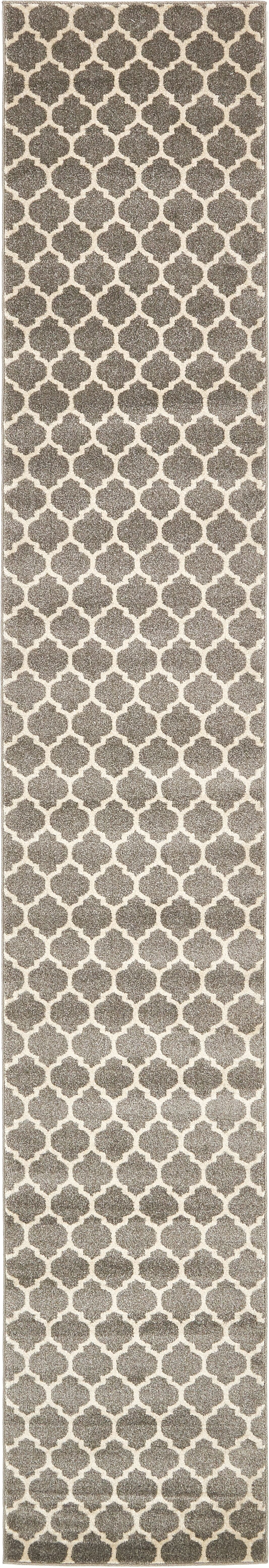 Moore Gray Area Rug Rug Size: Runner 2'7