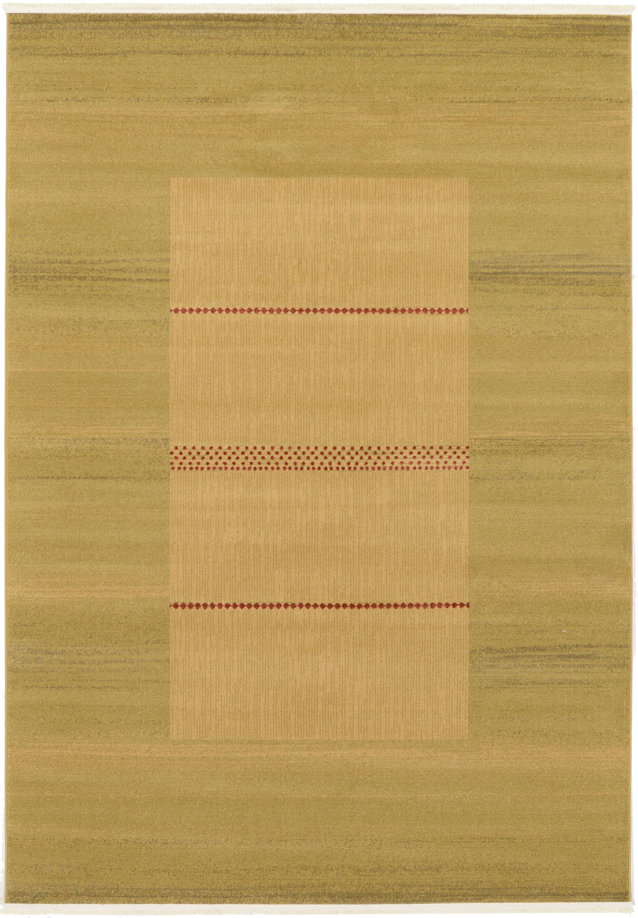 Cooke Beige Area Rug Rug Size: Rectangle 7' x 10'