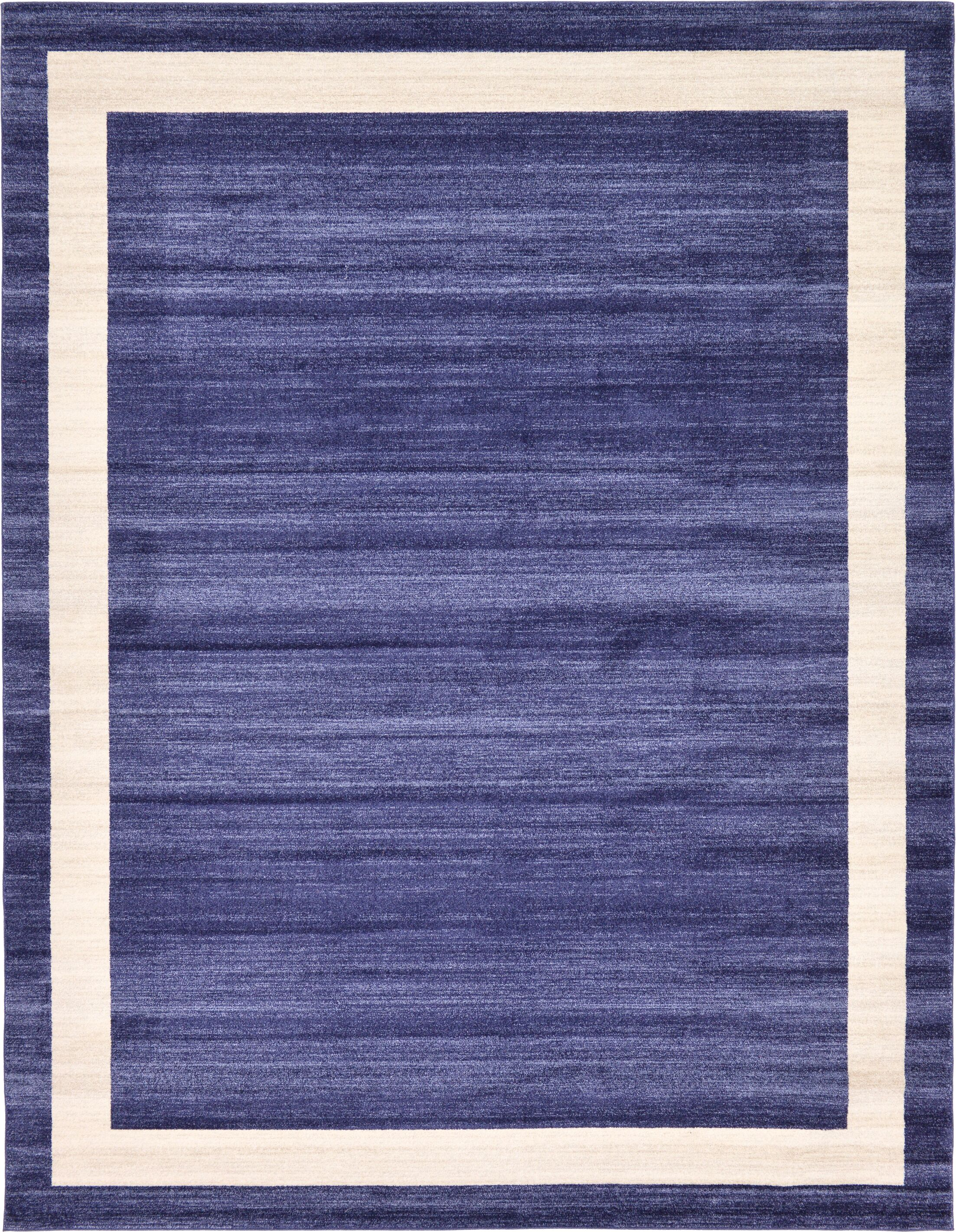 Christi Blue/Beige Area Rug Rug Size: Rectangle 10' x 13'