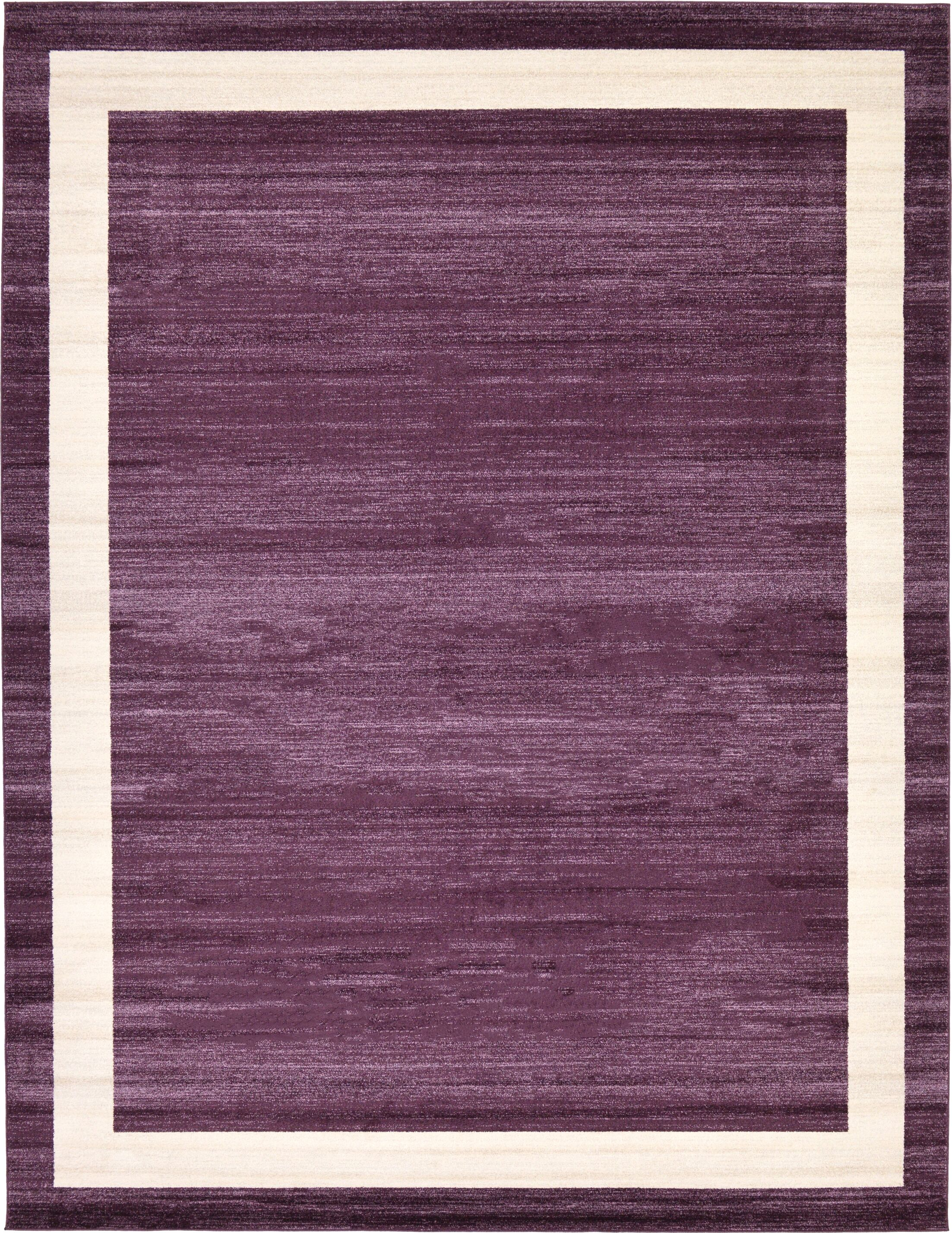 Christi Purple/Beige Area Rug Rug Size: Rectangle 10' x 13'