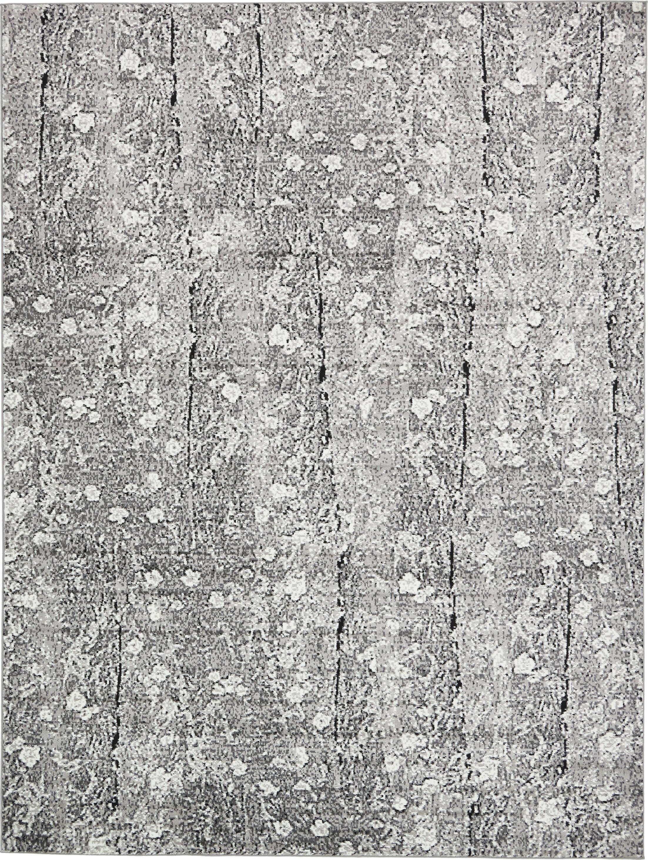 Maryrose Dark Gray Tibetan Area Rug Rug Size: Rectangle 9' x 12'