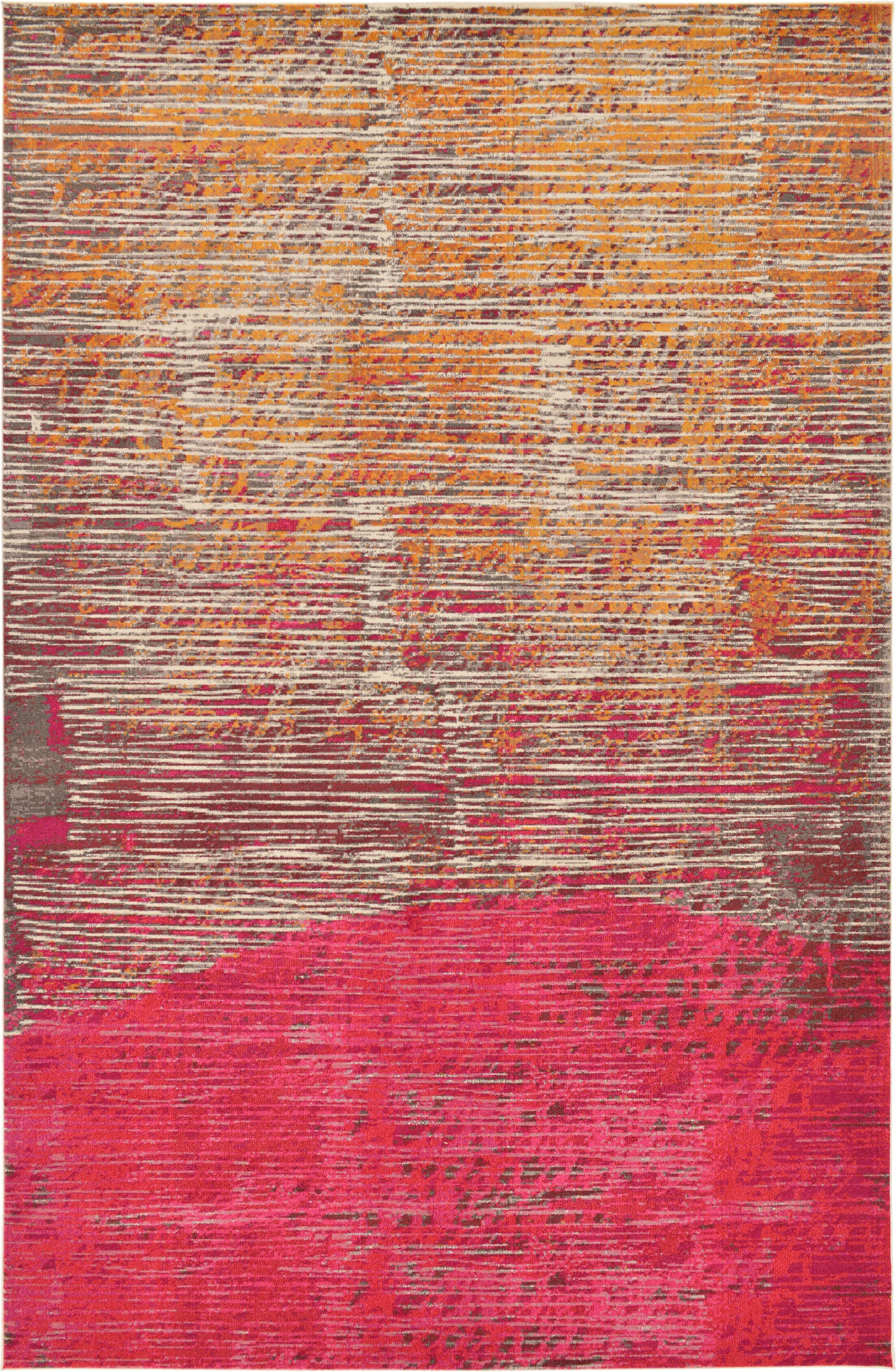 Fujii Multi Area Rug Rug Size: Rectangle 10'6