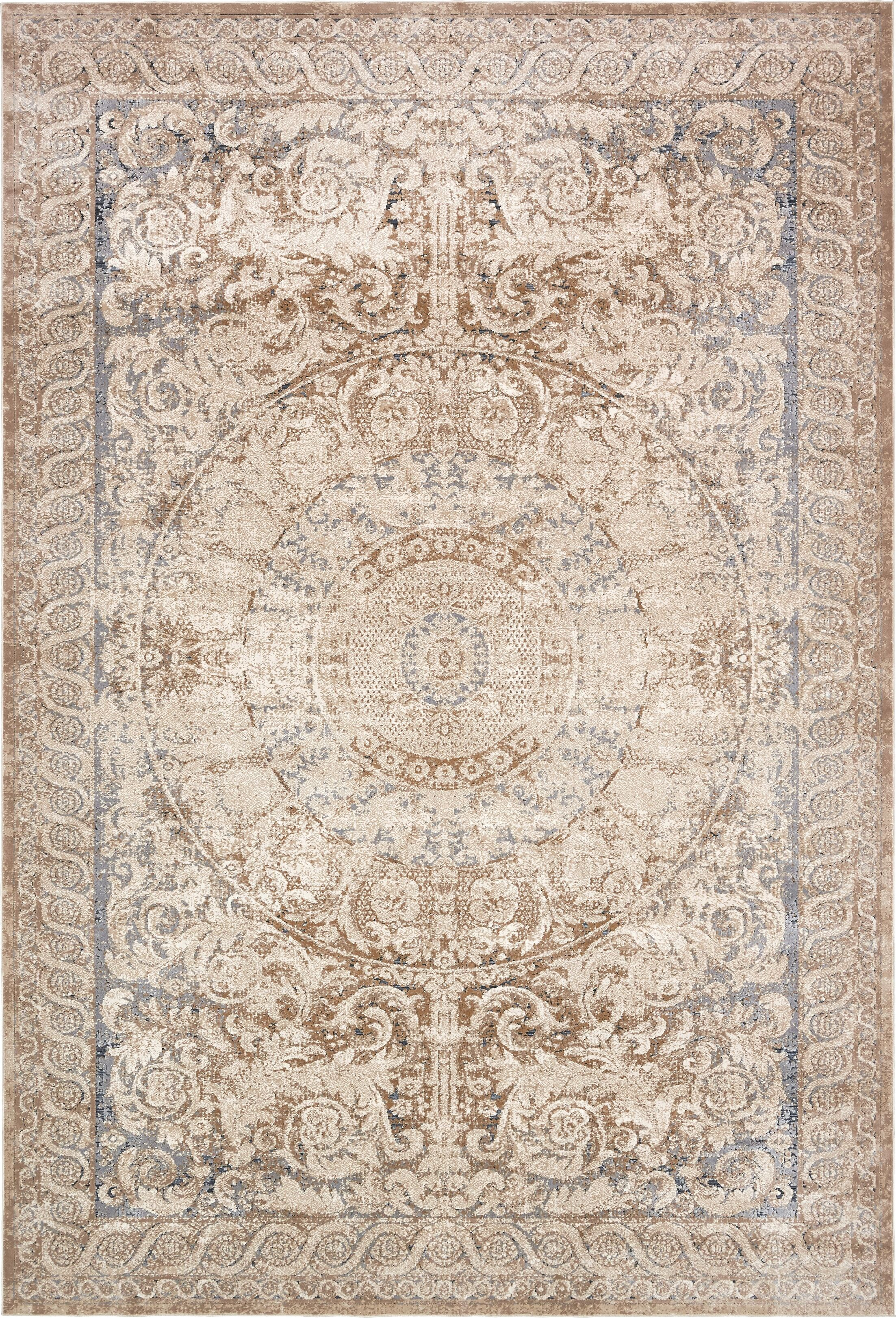 Abbeville Beige Area Rug Rug Size: Rectangle 10' x 14'5