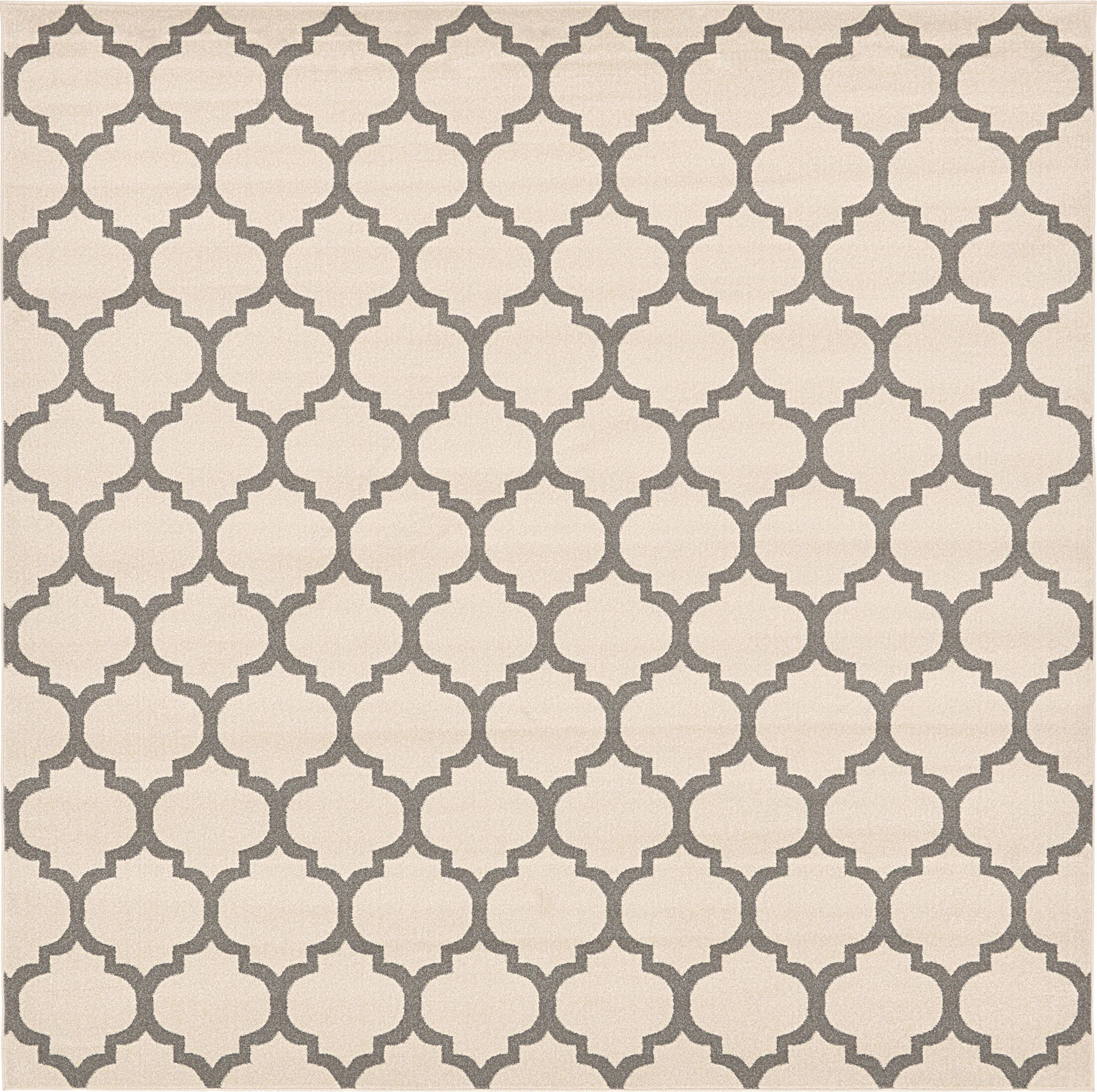 Moore Beige Area Rug Rug Size: Square 10'