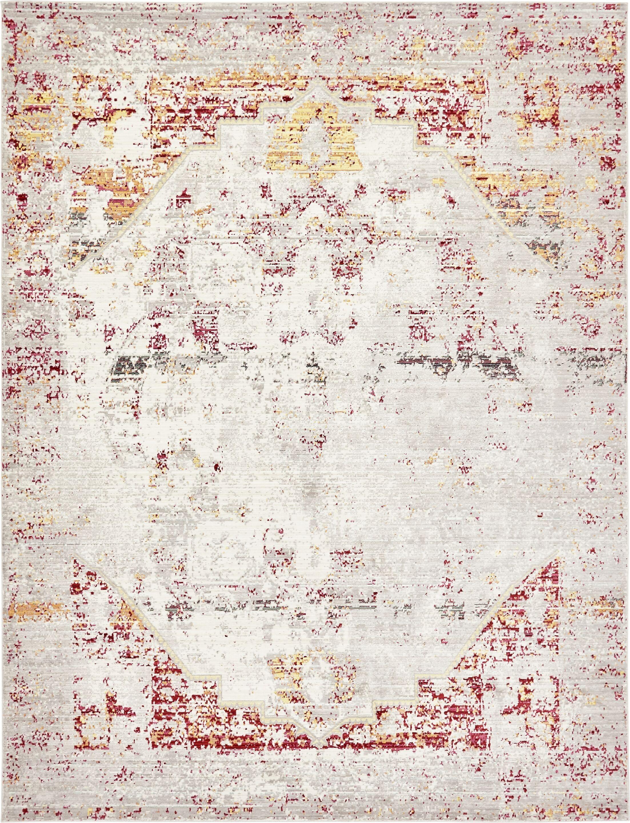 Carrico Tibetan Beige Area Rug Rug Size: Rectangle 9' x 12'