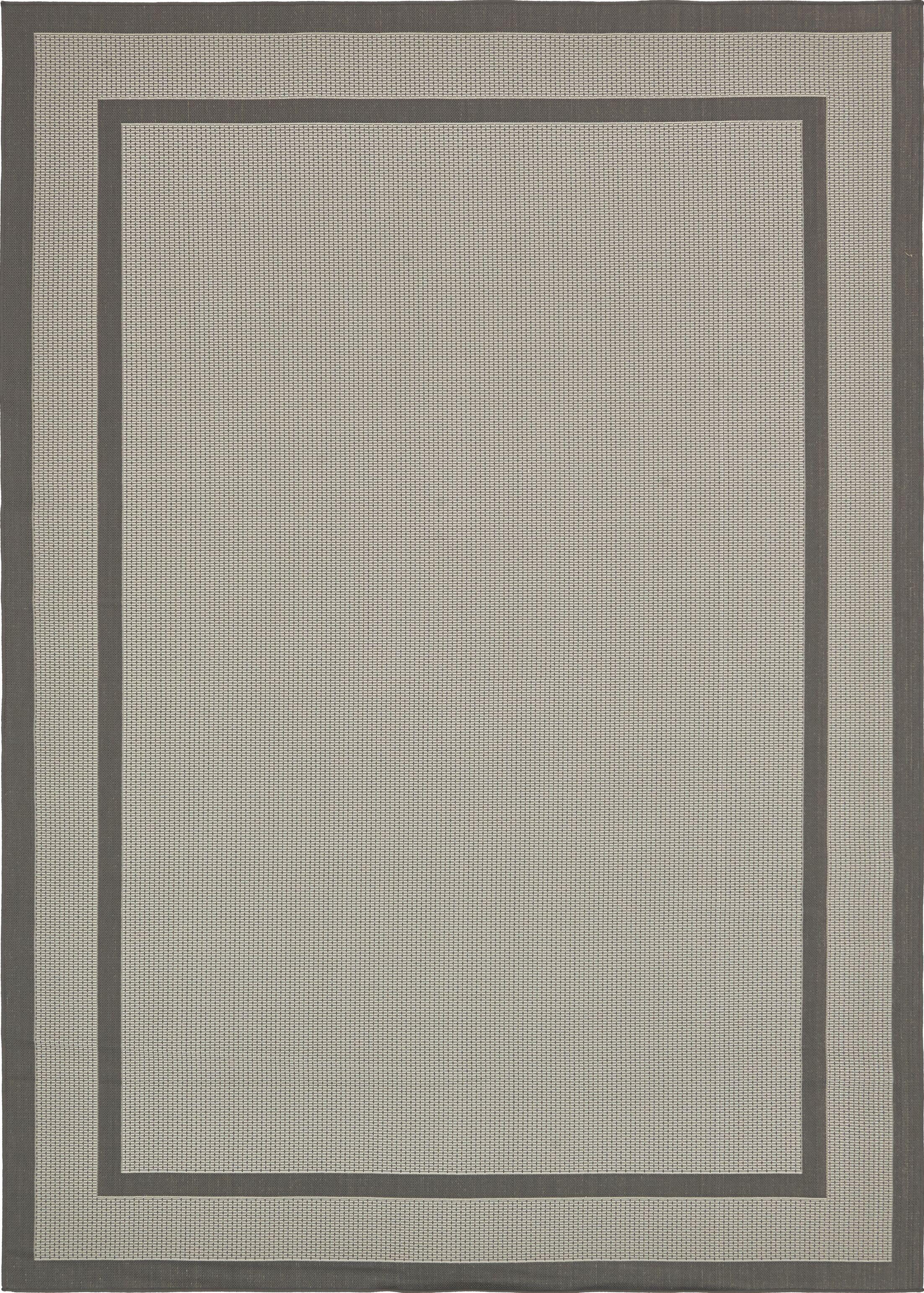 Marlborough Gray Outdoor Area Rug Rug Size: Rectangle 8' x 11'4