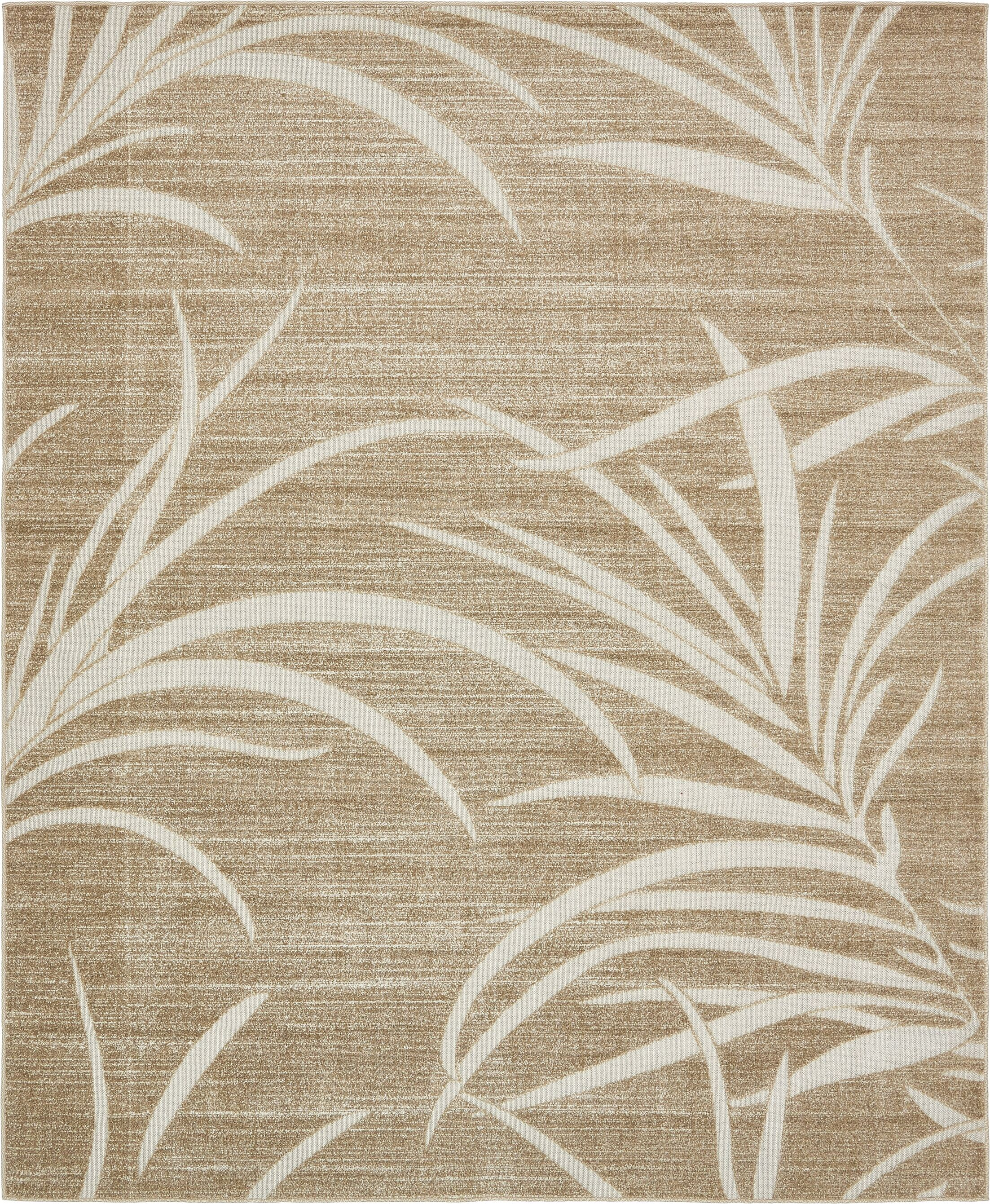 Spathariko Beige Indoor/Outdoor Area Rug Rug Size: Rectangle 8' x 10'