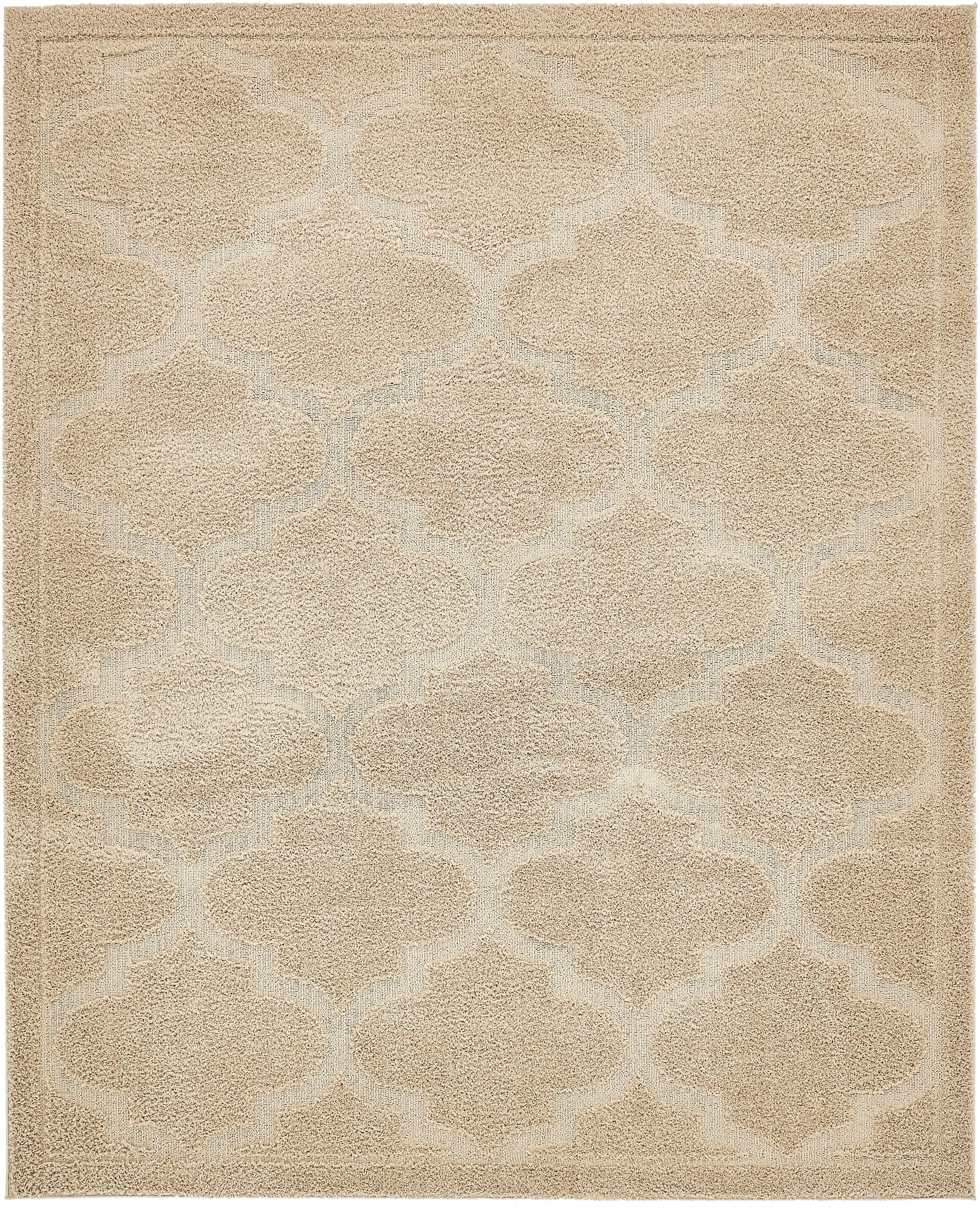 Moore Beige Area Rug Rug Size: Rectangle 8' x 10'