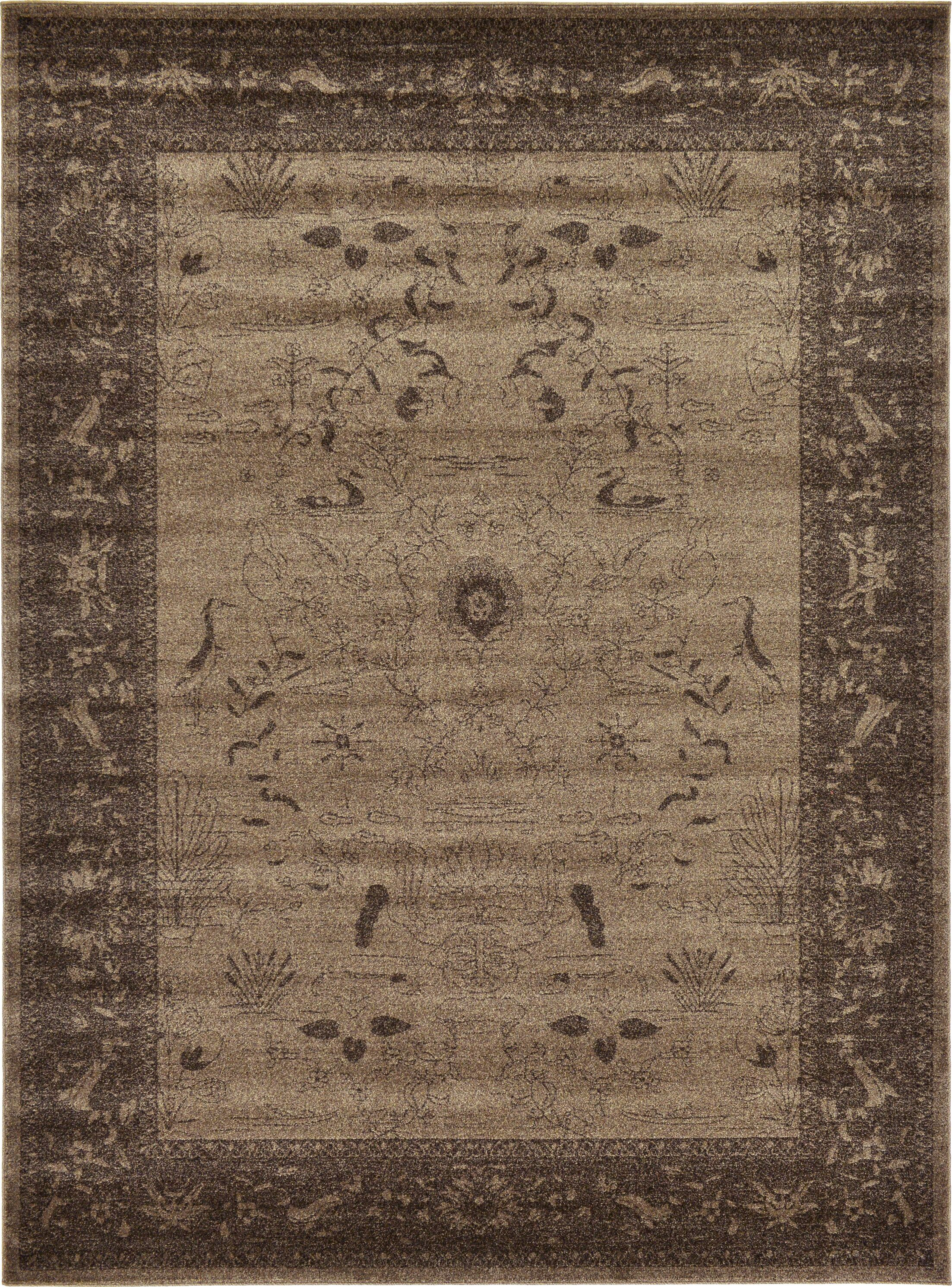 Shailene Brown Area Rug Rug Size: Rectangle 8' x 11'