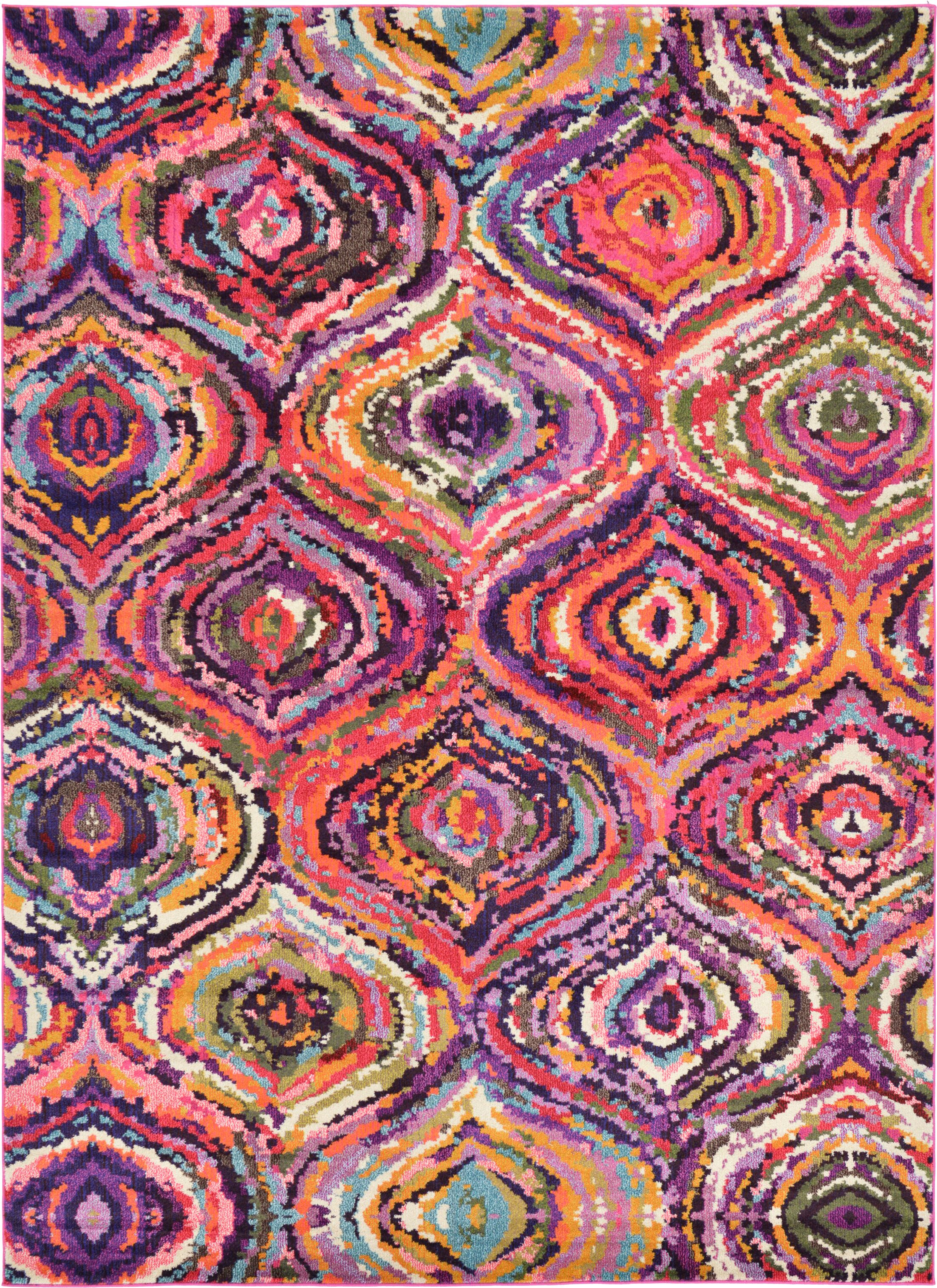 Roshan Multi Area Rug Rug Size: Rectangle 8' x 11'