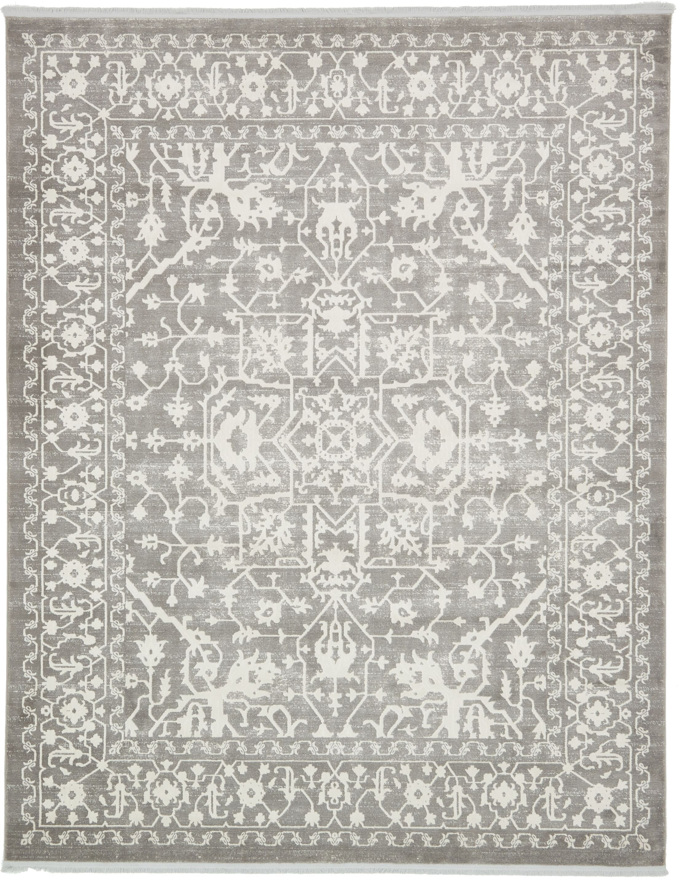 Bryant Light Gray Area Rug Rug Size: Rectangle 8' x 10'