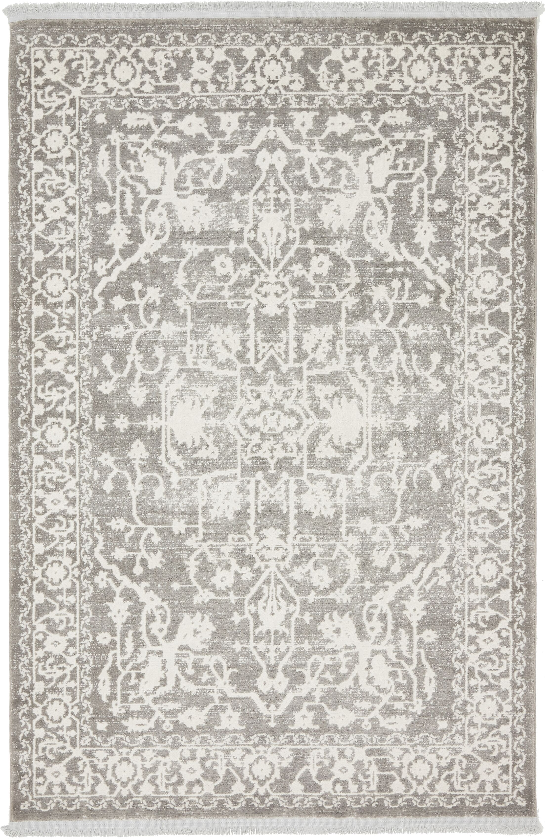 Bryant Light Gray Area Rug Rug Size: Rectangle 4' x 6'