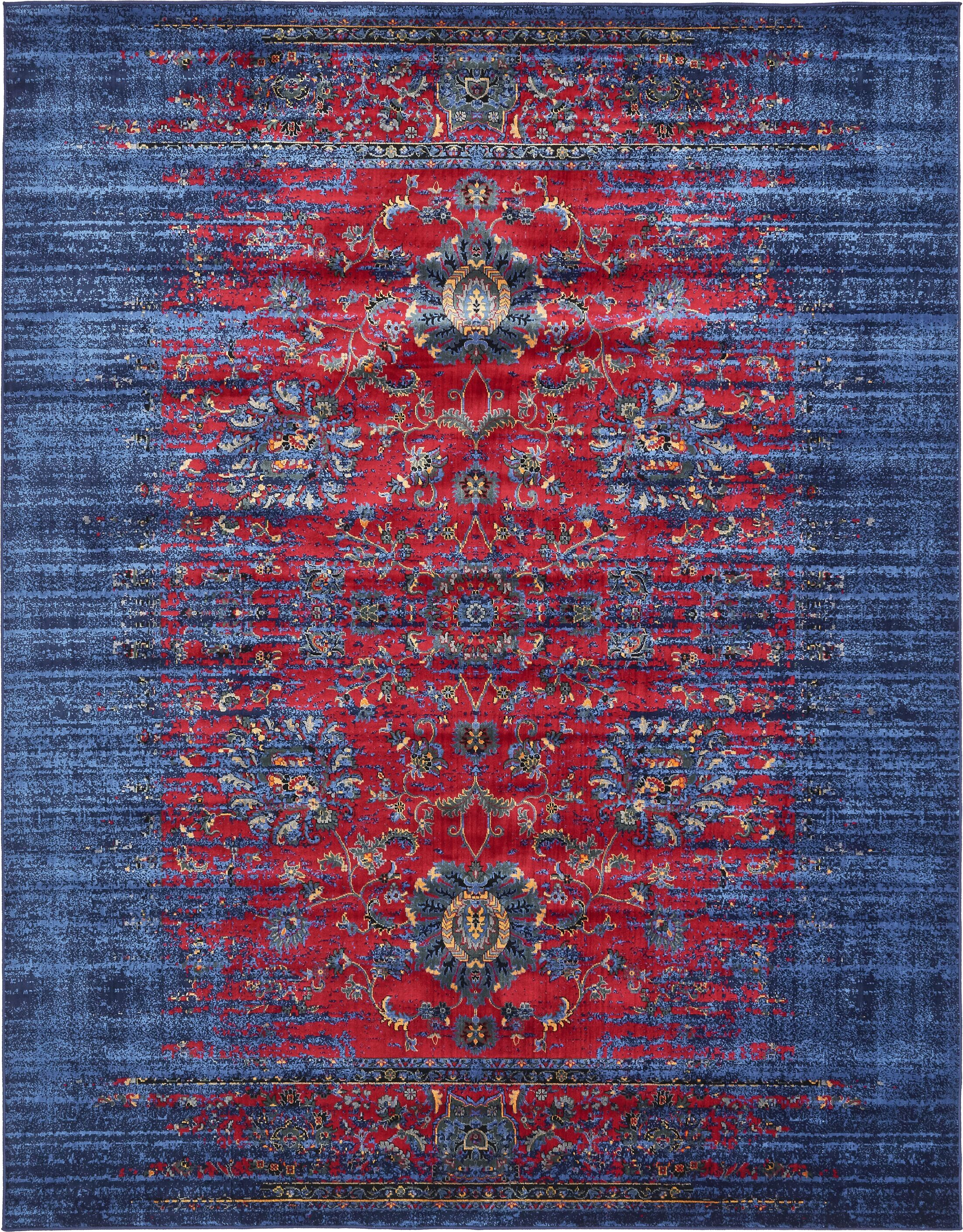 Figueroa Burgundy Area Rug Rug Size: Rectangle 5' x 8'