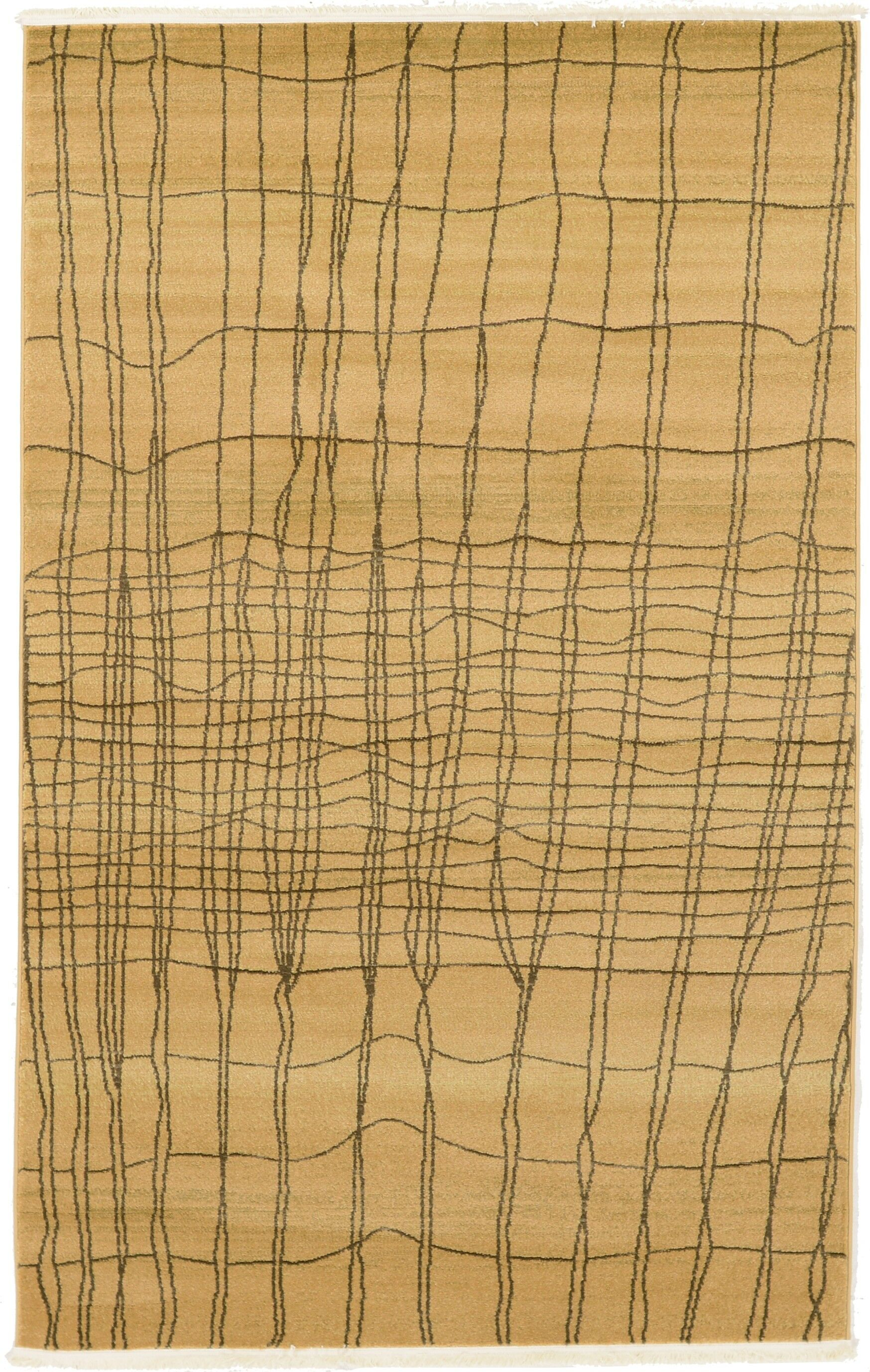 Foret Noire Brown Area Rug Rug Size: Rectangle 5' x 8'