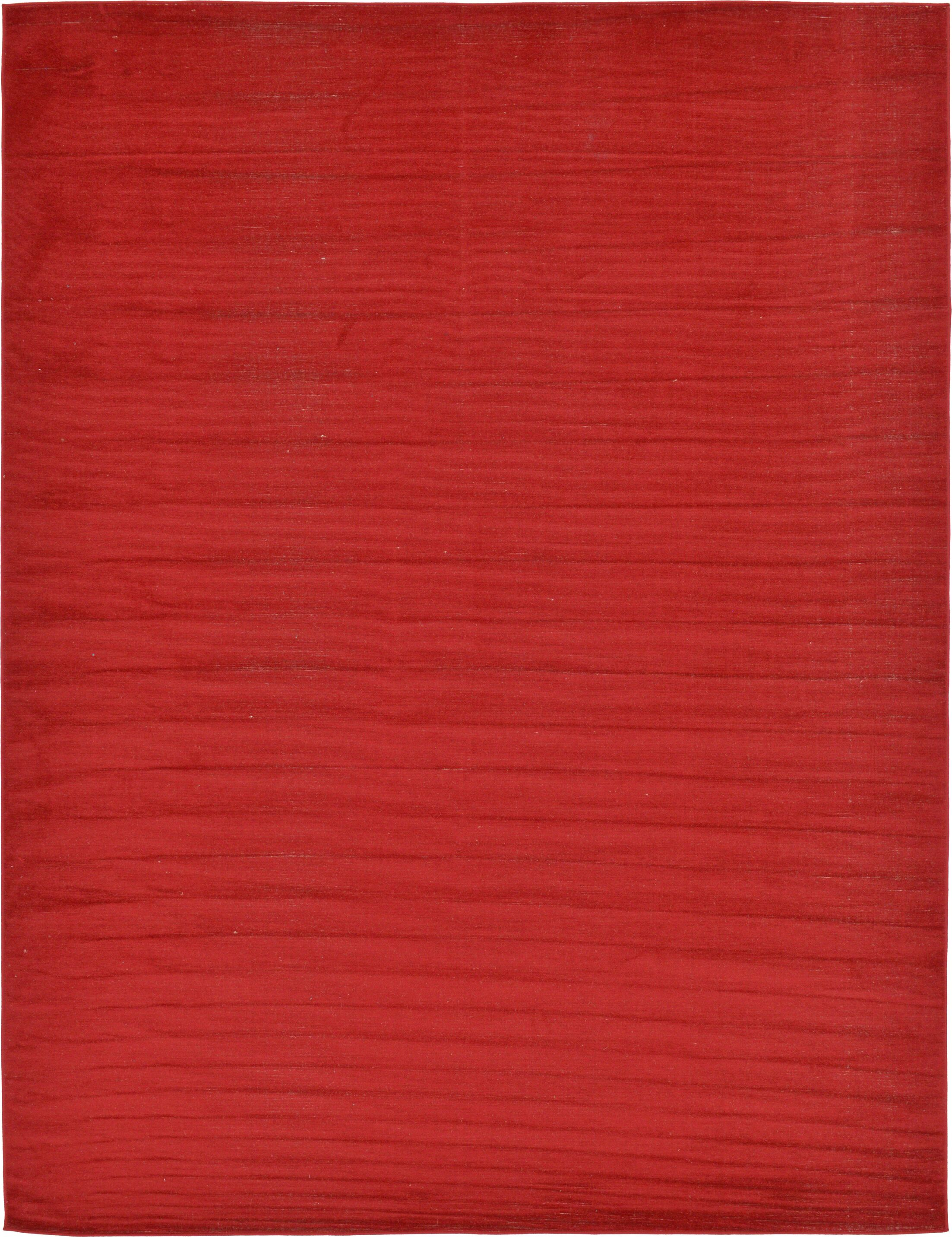 Risley Red Area Rug Rug Size: Rectangle 9' x 12'