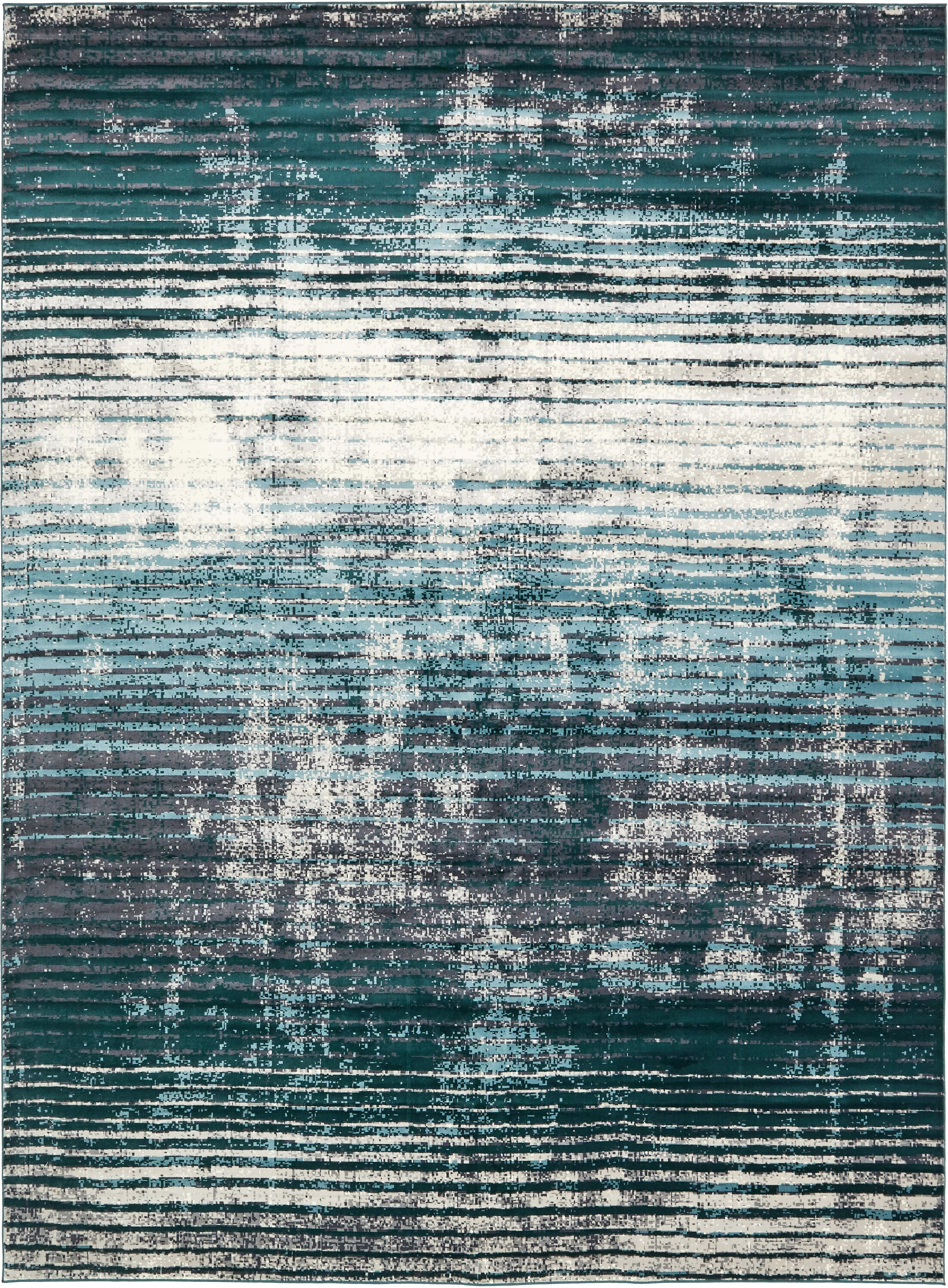 Brayden Blue Area Rug Rug Size: Rectangle 10' x 13'