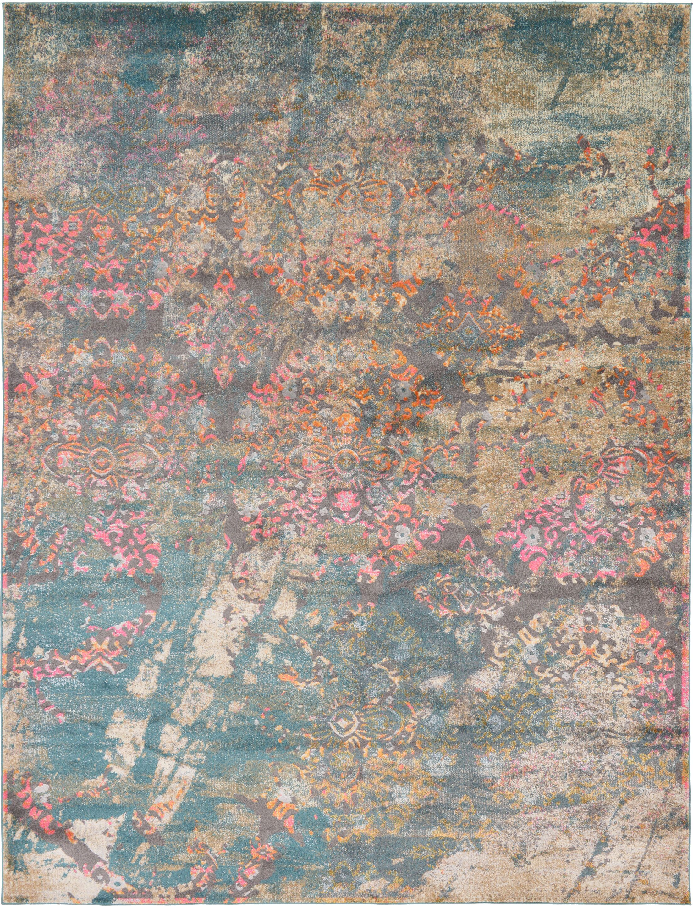 Cherry Street Gray Area Rug Rug Size: Rectangle 9' x 12'