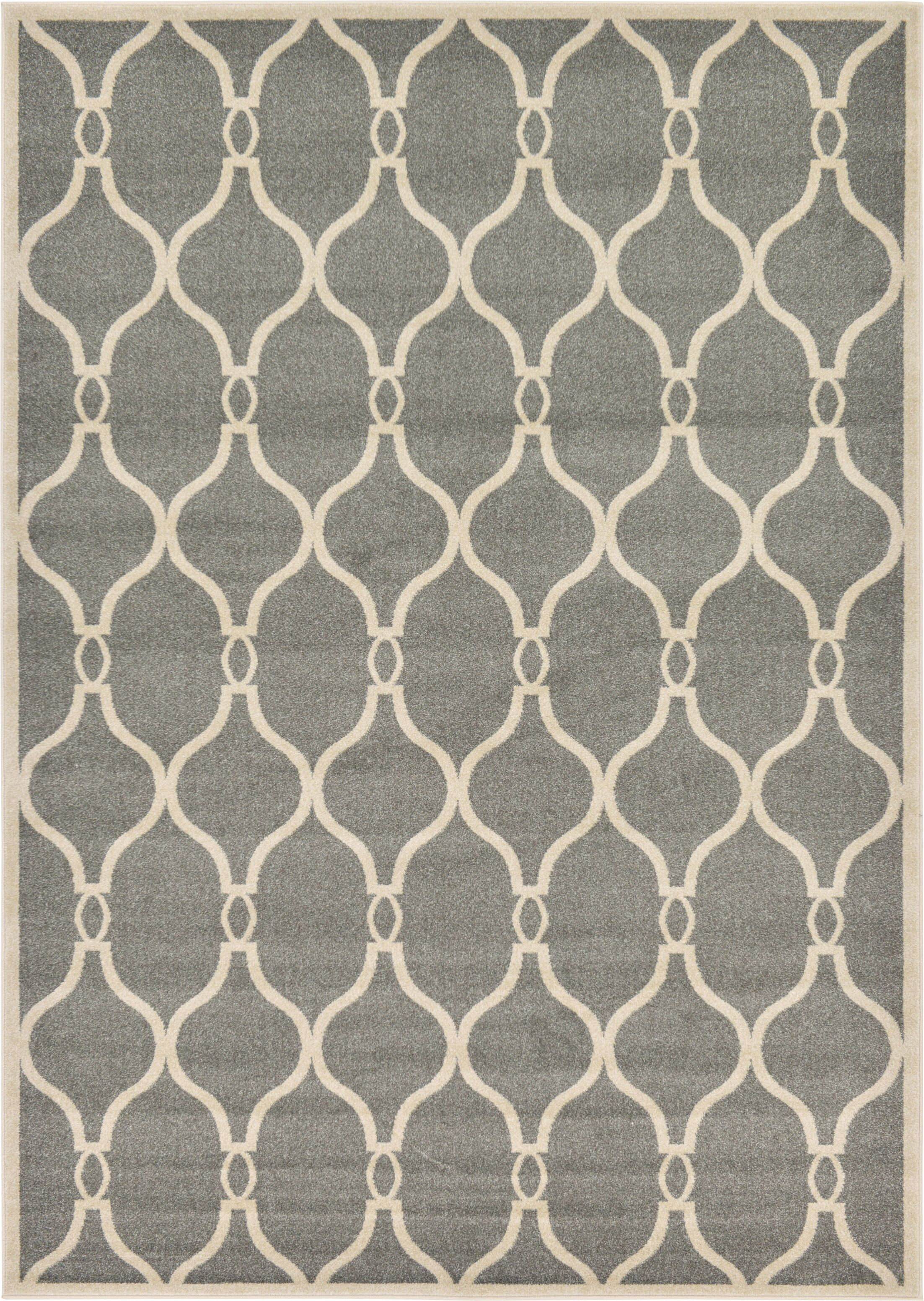 Molly Gray Area Rug Rug Size: Rectangle 7' x 10'