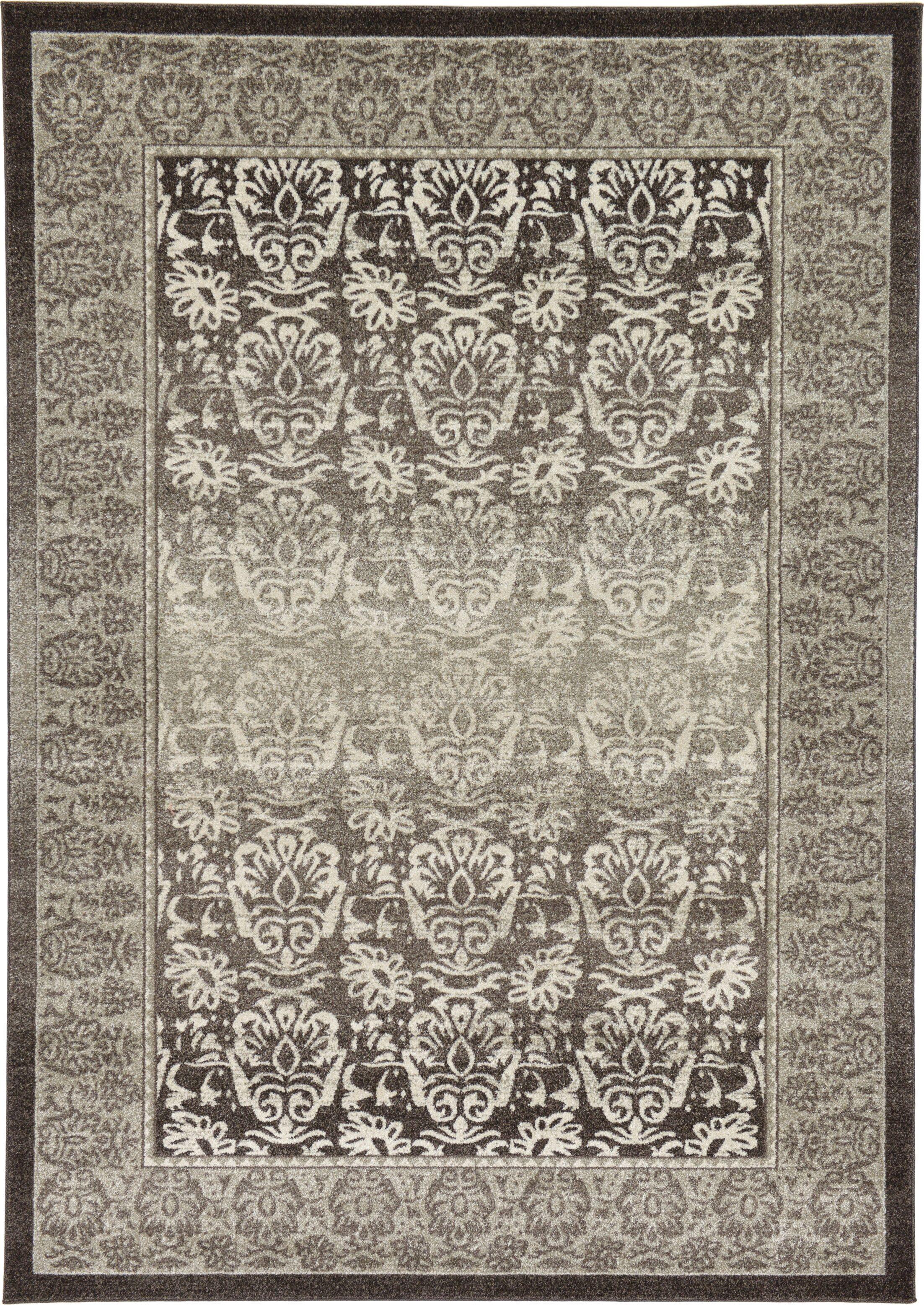 Alexan Brown Area Rug Rug Size: Rectangle 7' x 10'