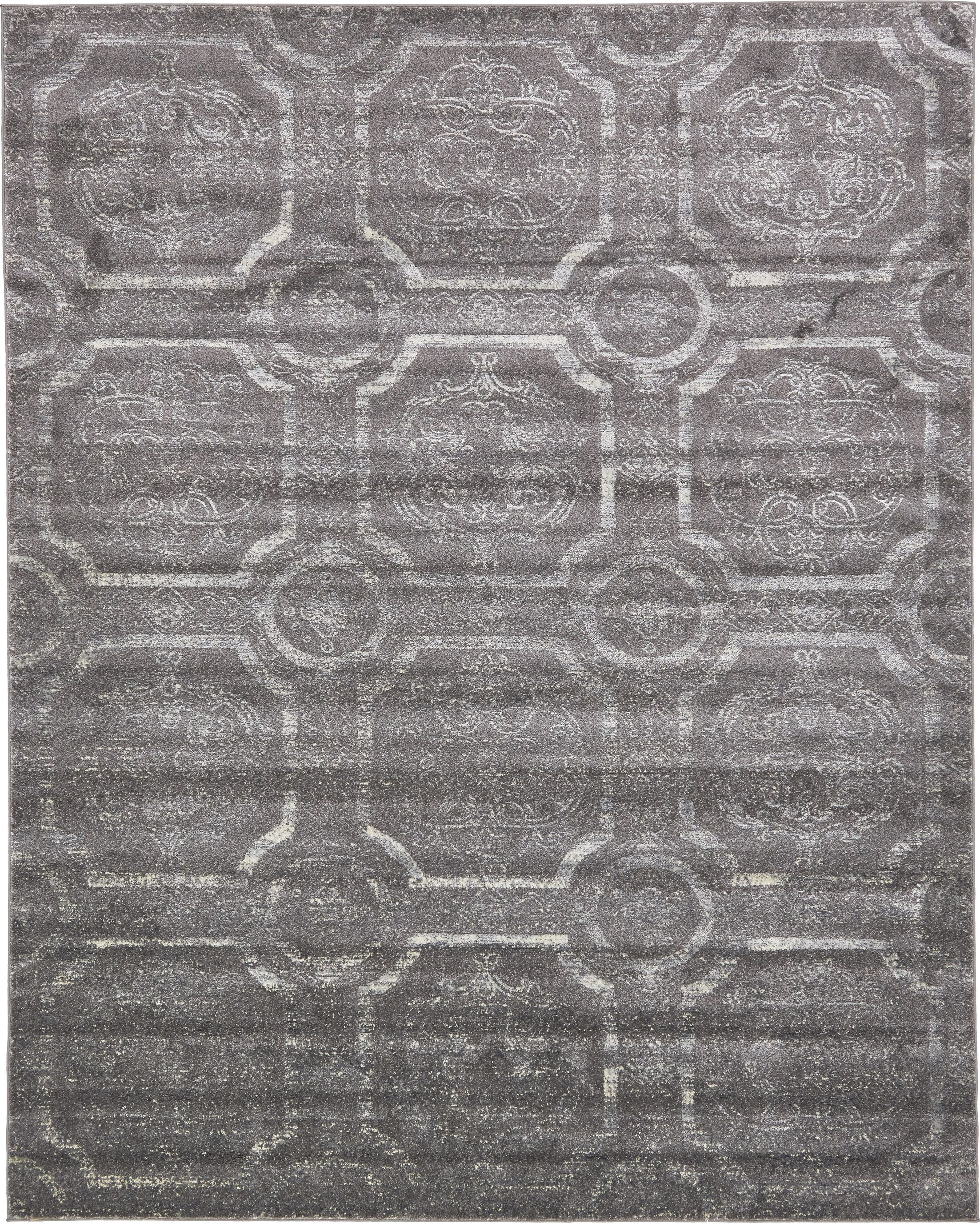 Essex Dark Gray Area Rug Rug Size: Rectangle 8' x 10'