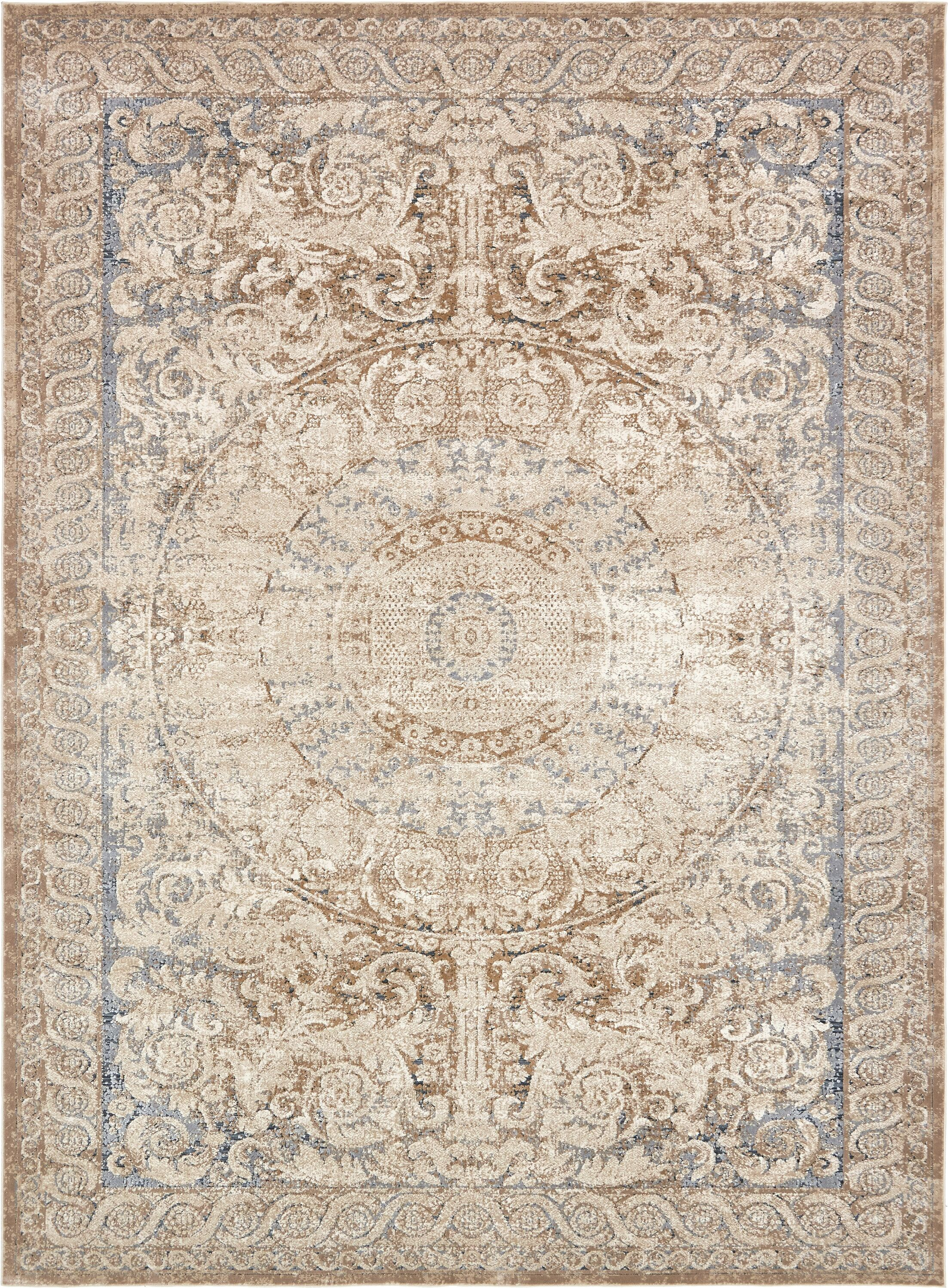 Abbeville Beige Area Rug Rug Size: Rectangle 9' x 12'
