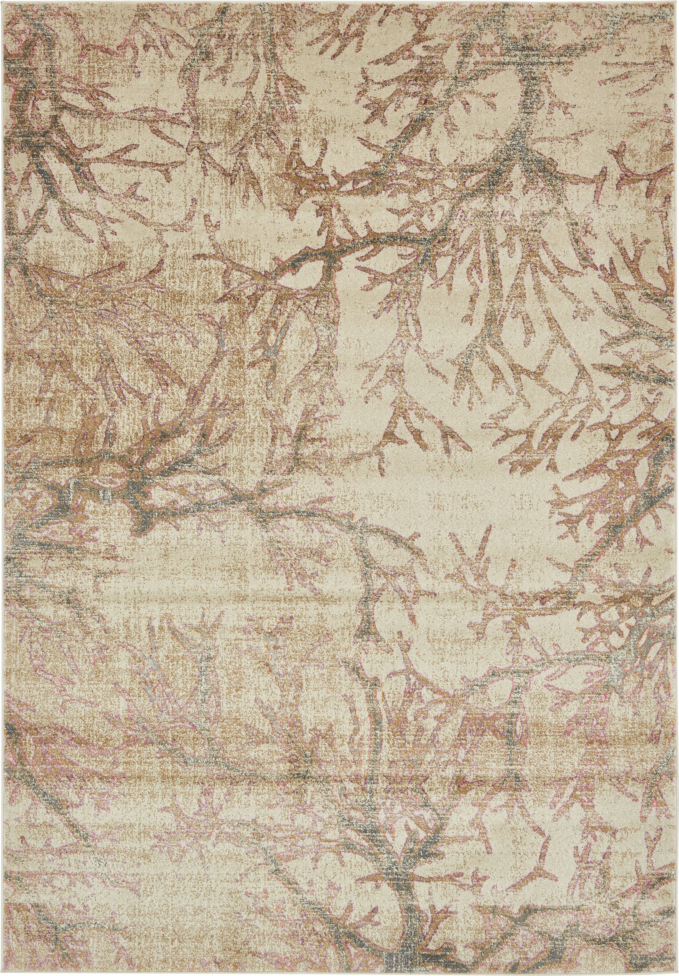 Essex Dark Beige Area Rug Rug Size: Rectangle 7' x 10'