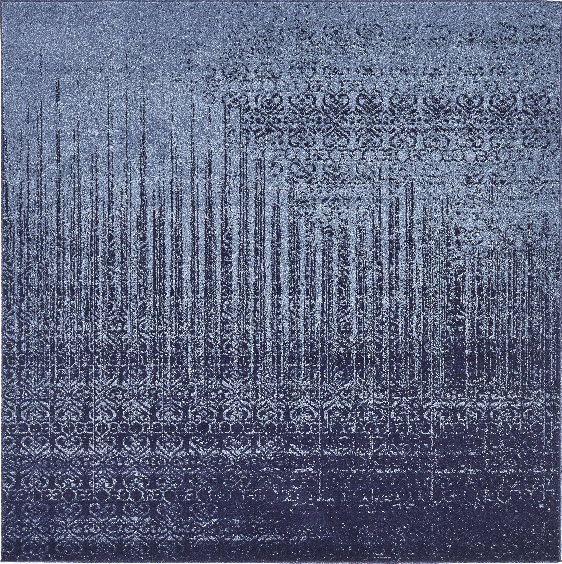 Dungan Blue Area Rug Rug Size: Square 6'