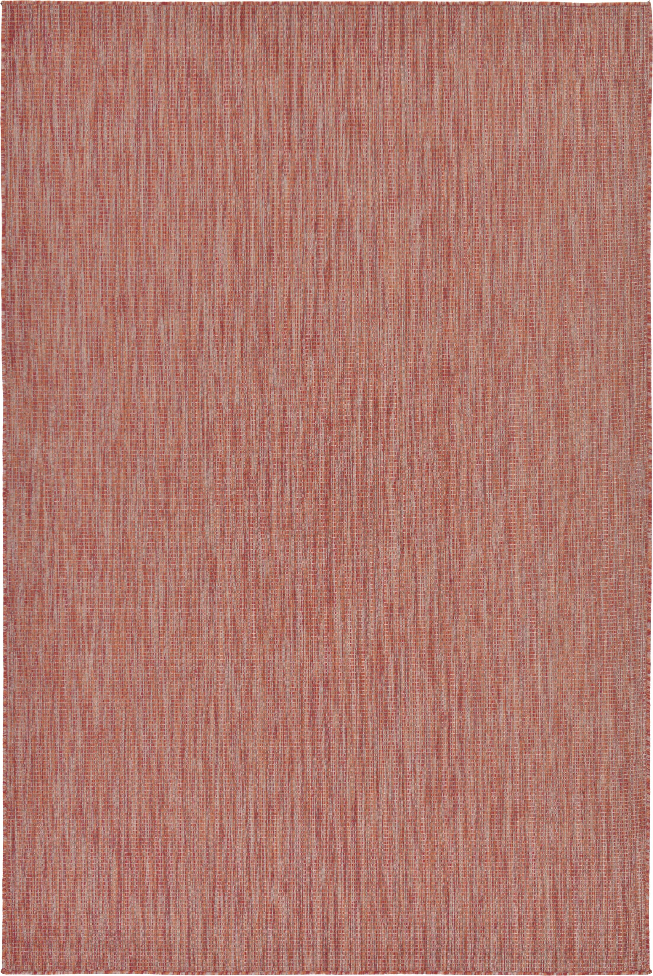 Janet Rust Red Area Rug Rug Size: Rectangle 6' x 9'